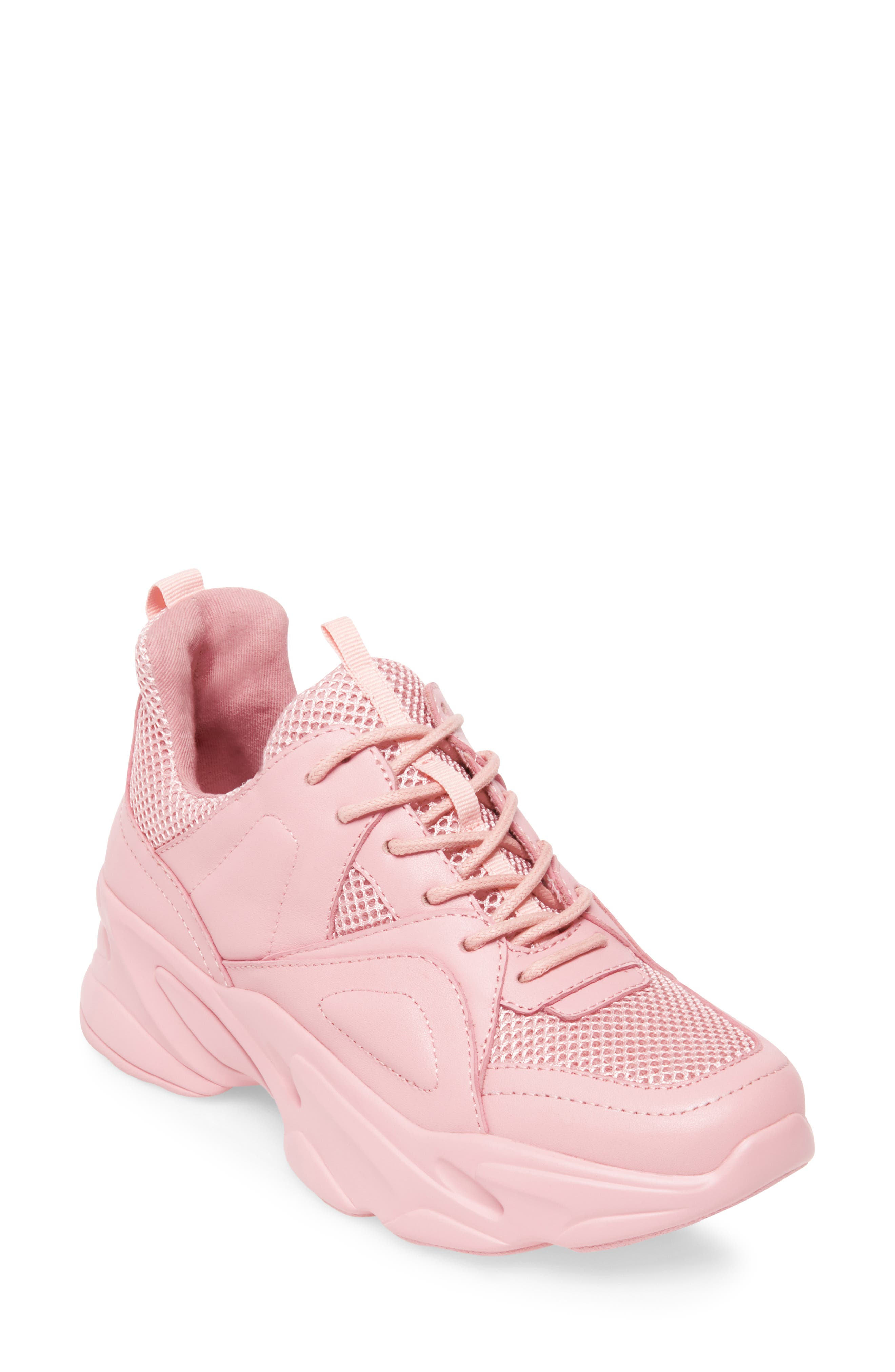 Movement Sneaker,                             Main thumbnail 1, color,                             PINK LEATHER