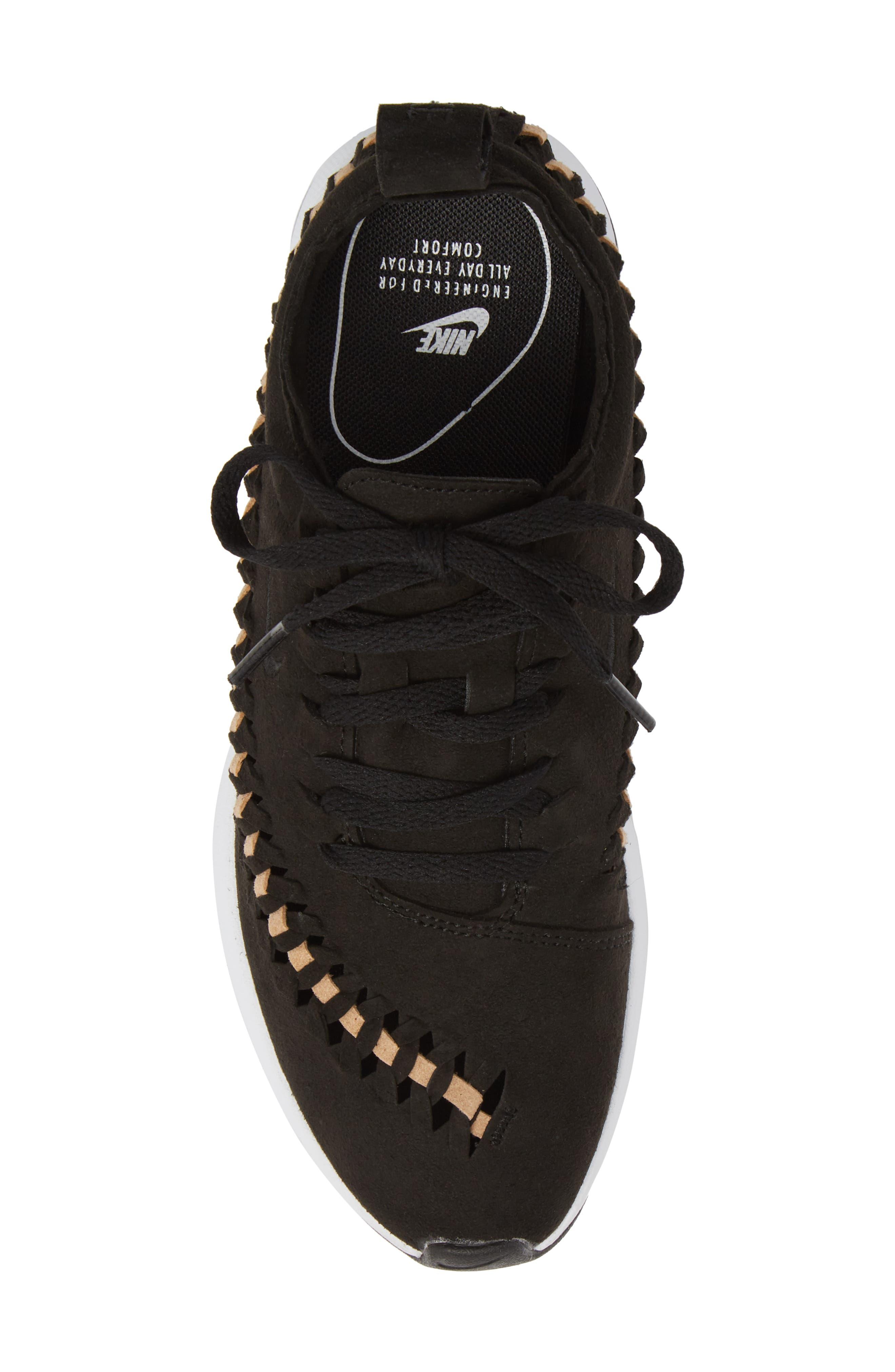 Dualtone Racer Woven Sneaker,                             Alternate thumbnail 5, color,                             001