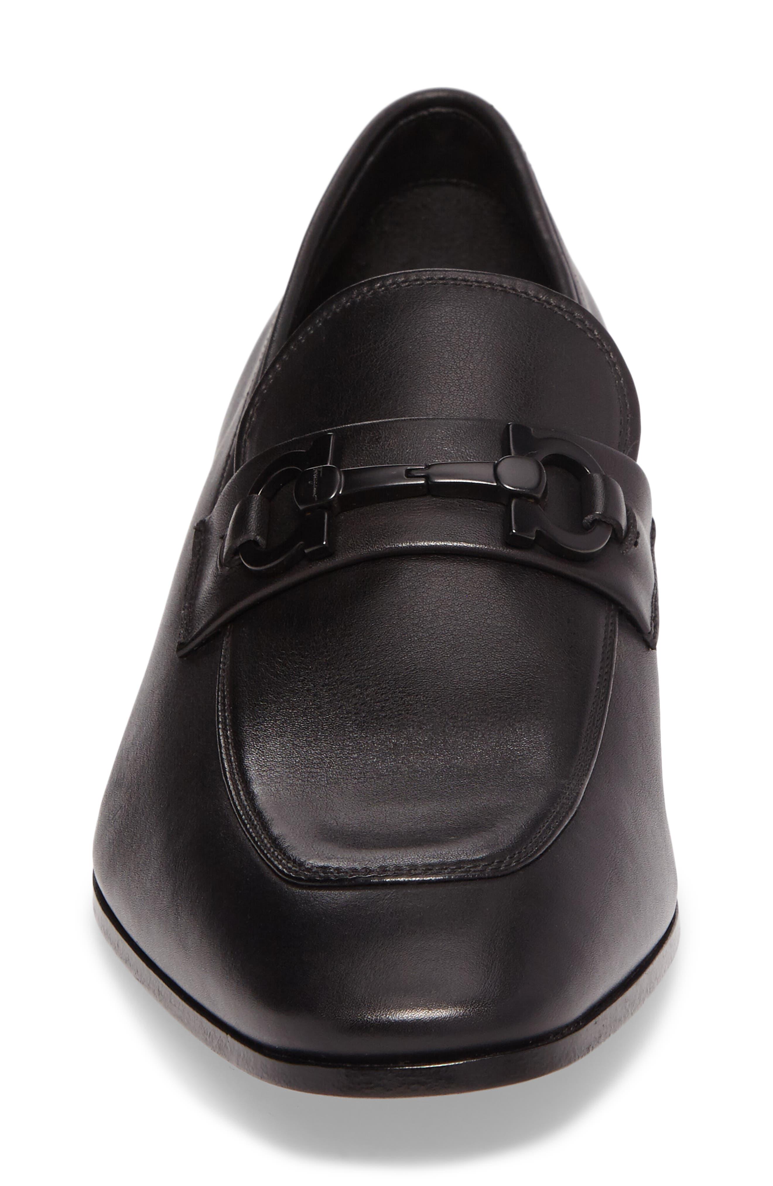 Cremona Bit Loafer,                             Alternate thumbnail 4, color,                             001