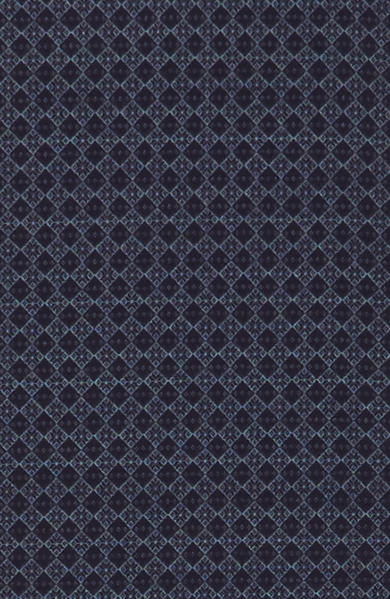 Diamond Weave Silk Blend Scarf,                             Alternate thumbnail 3, color,                             410