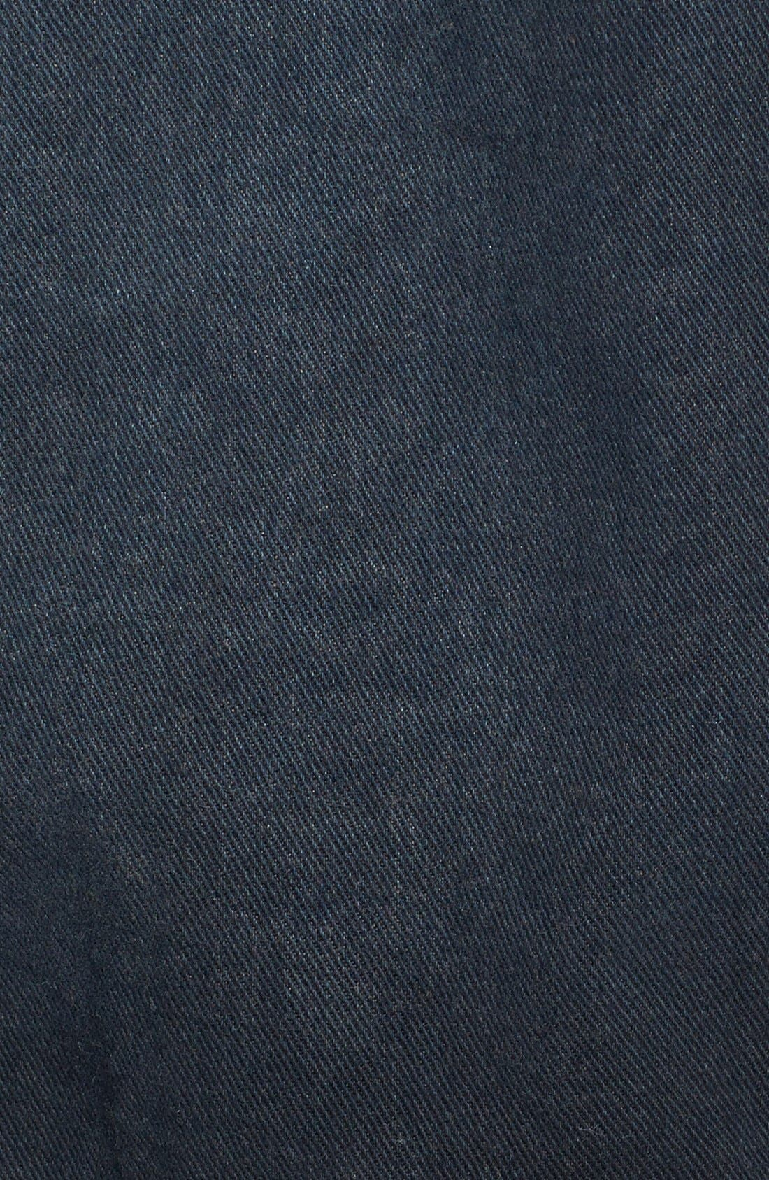 Denim & Knit Jacket,                             Alternate thumbnail 3, color,                             001