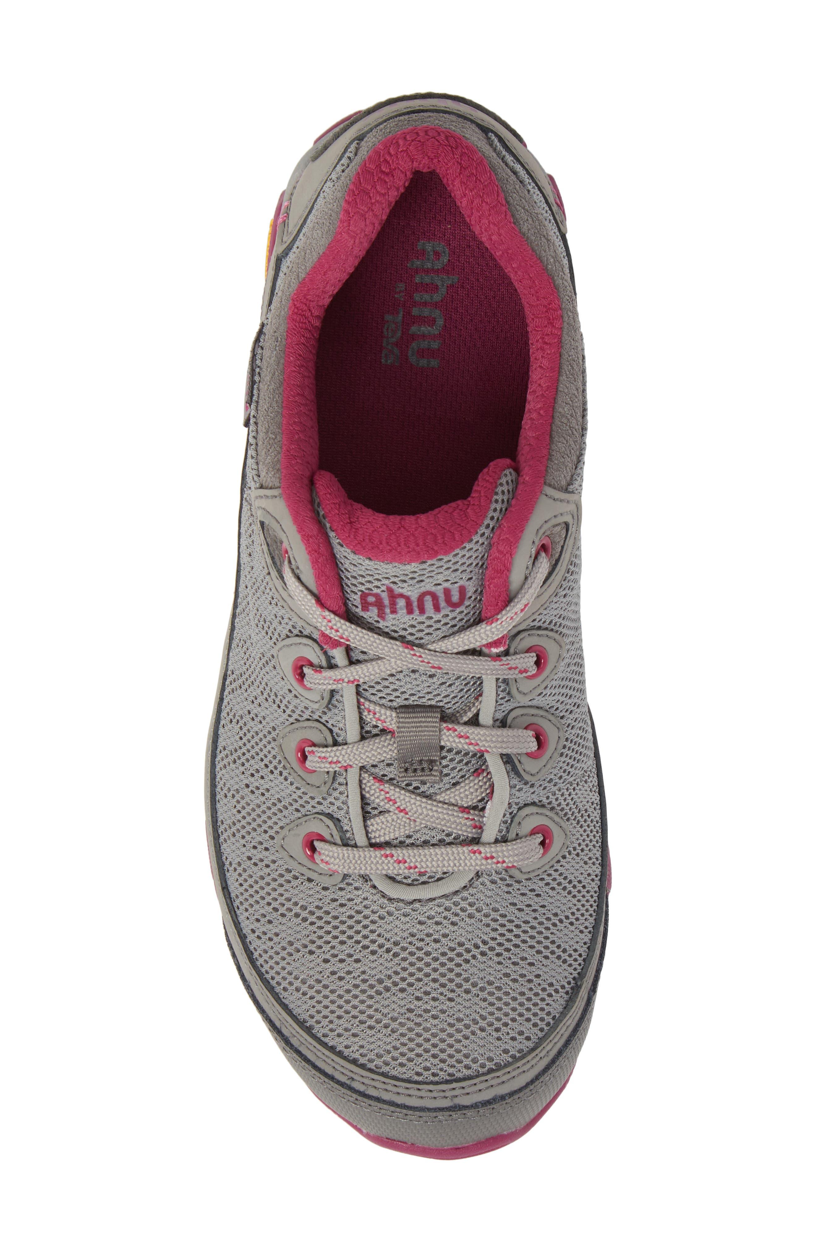 Ahnu by Teva Sugarpine II Air Mesh Hiking Waterproof Sneaker,                             Alternate thumbnail 5, color,                             WILD DOVE