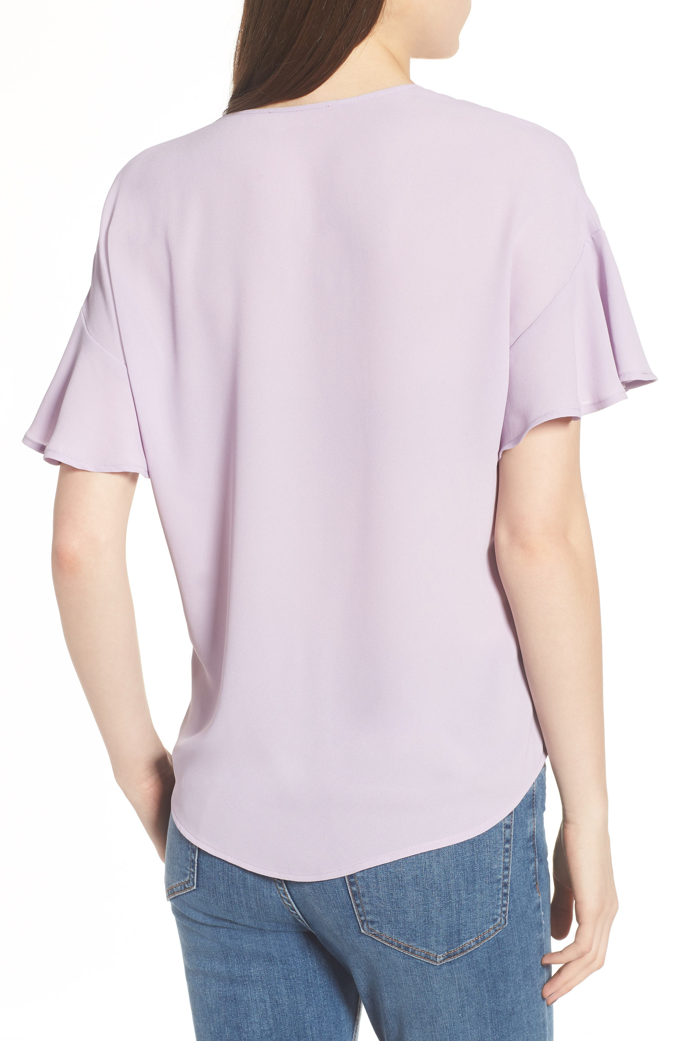 Crepe Tee,                             Alternate thumbnail 13, color,