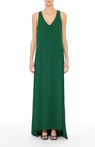 Crepe Cross Back Gown, video thumbnail