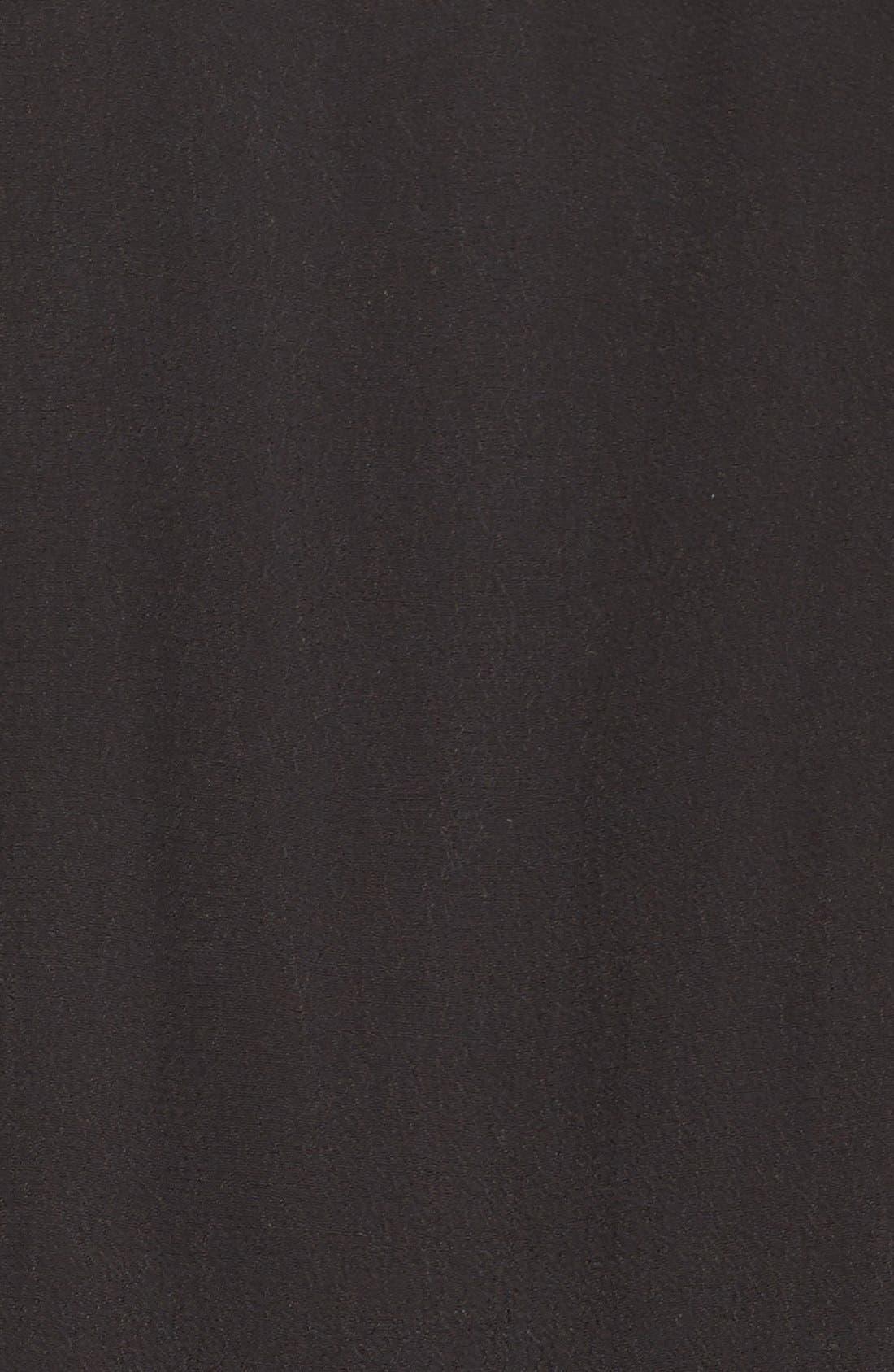 Off the Shoulder Jumpsuit,                             Alternate thumbnail 2, color,                             BLACK