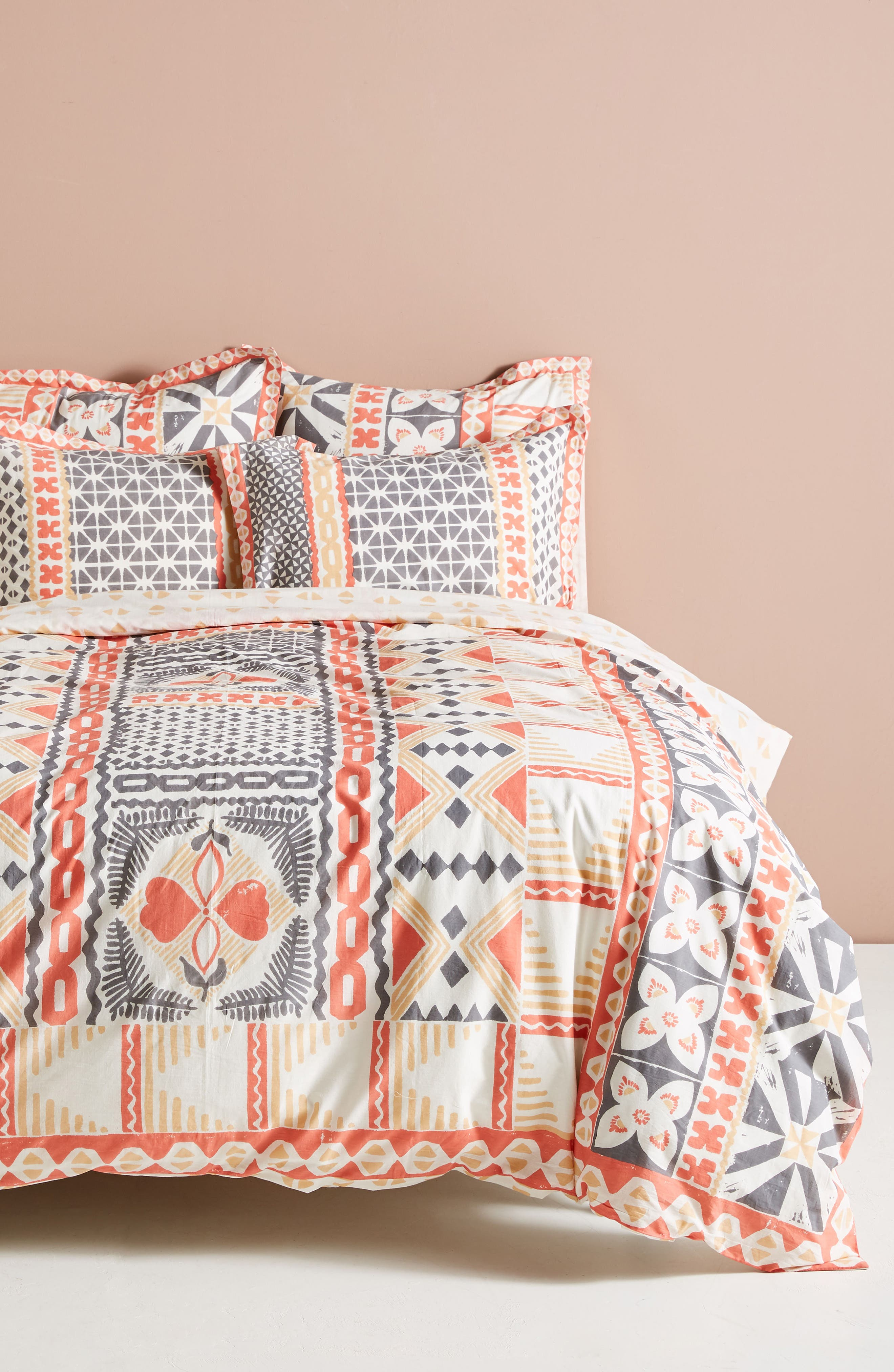 Simone Duvet Cover,                         Main,                         color, 950