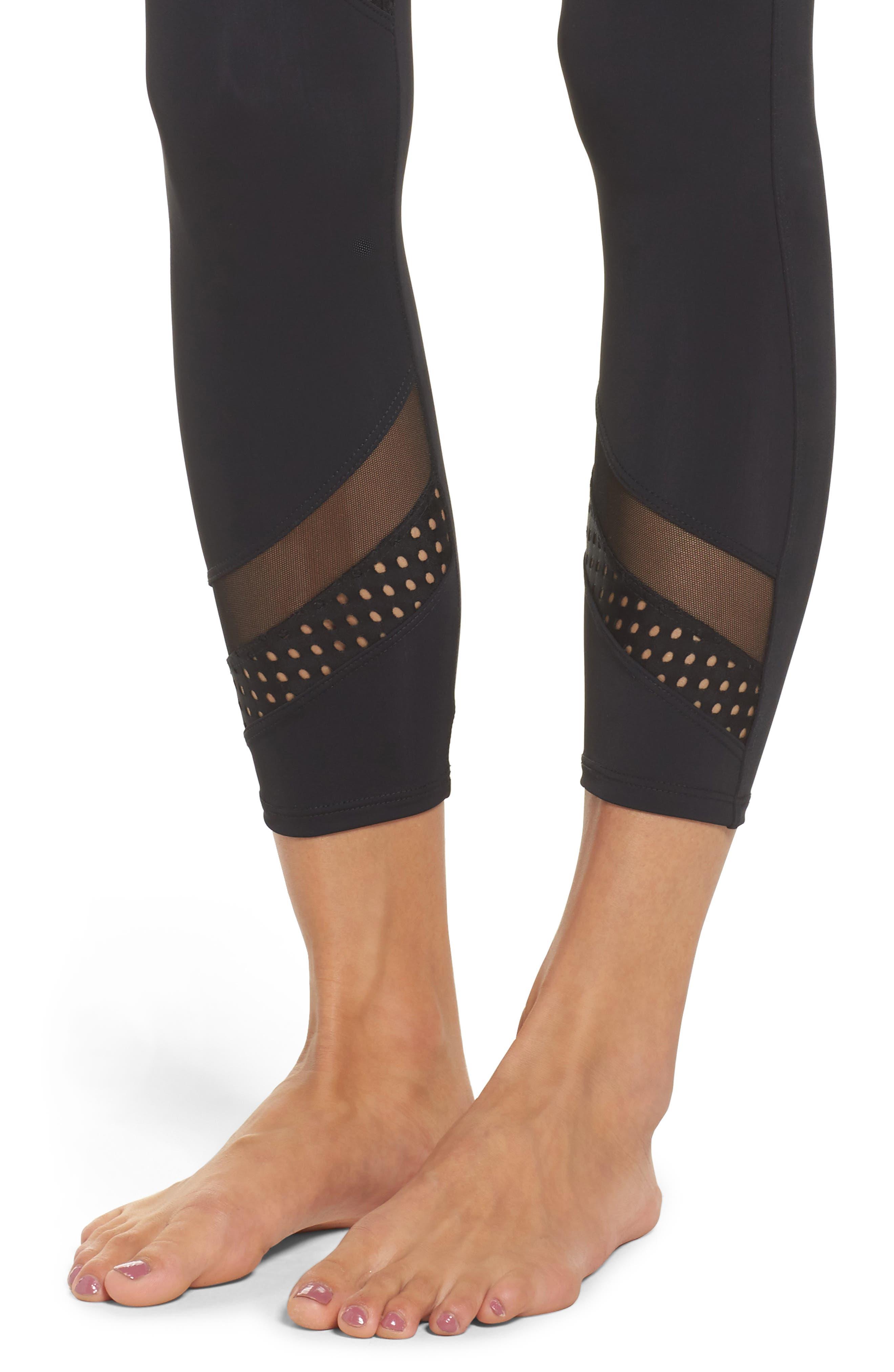 Sporty Leggings,                             Alternate thumbnail 4, color,                             001