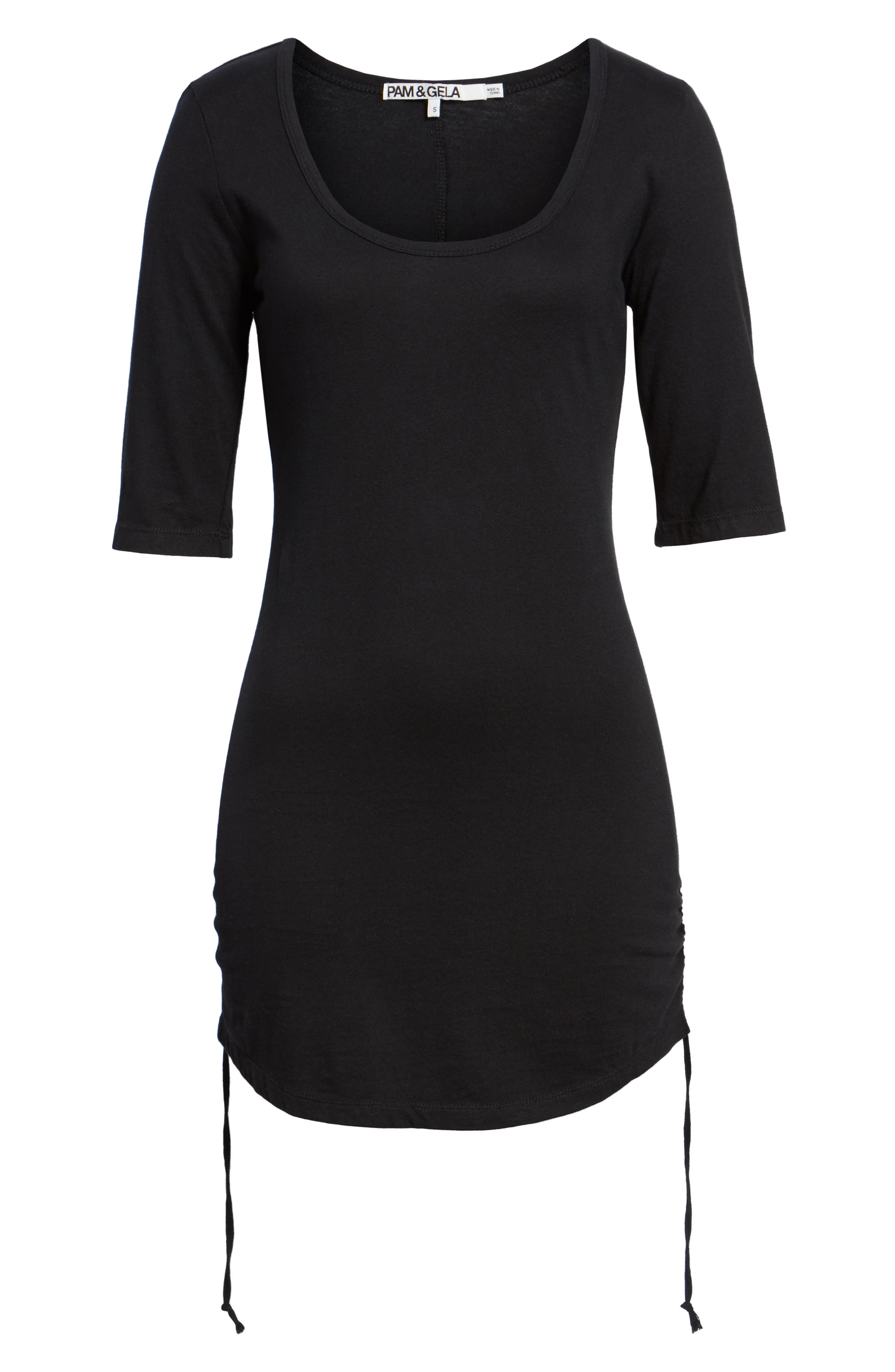 Ruched Body-Con Dress,                             Alternate thumbnail 11, color,