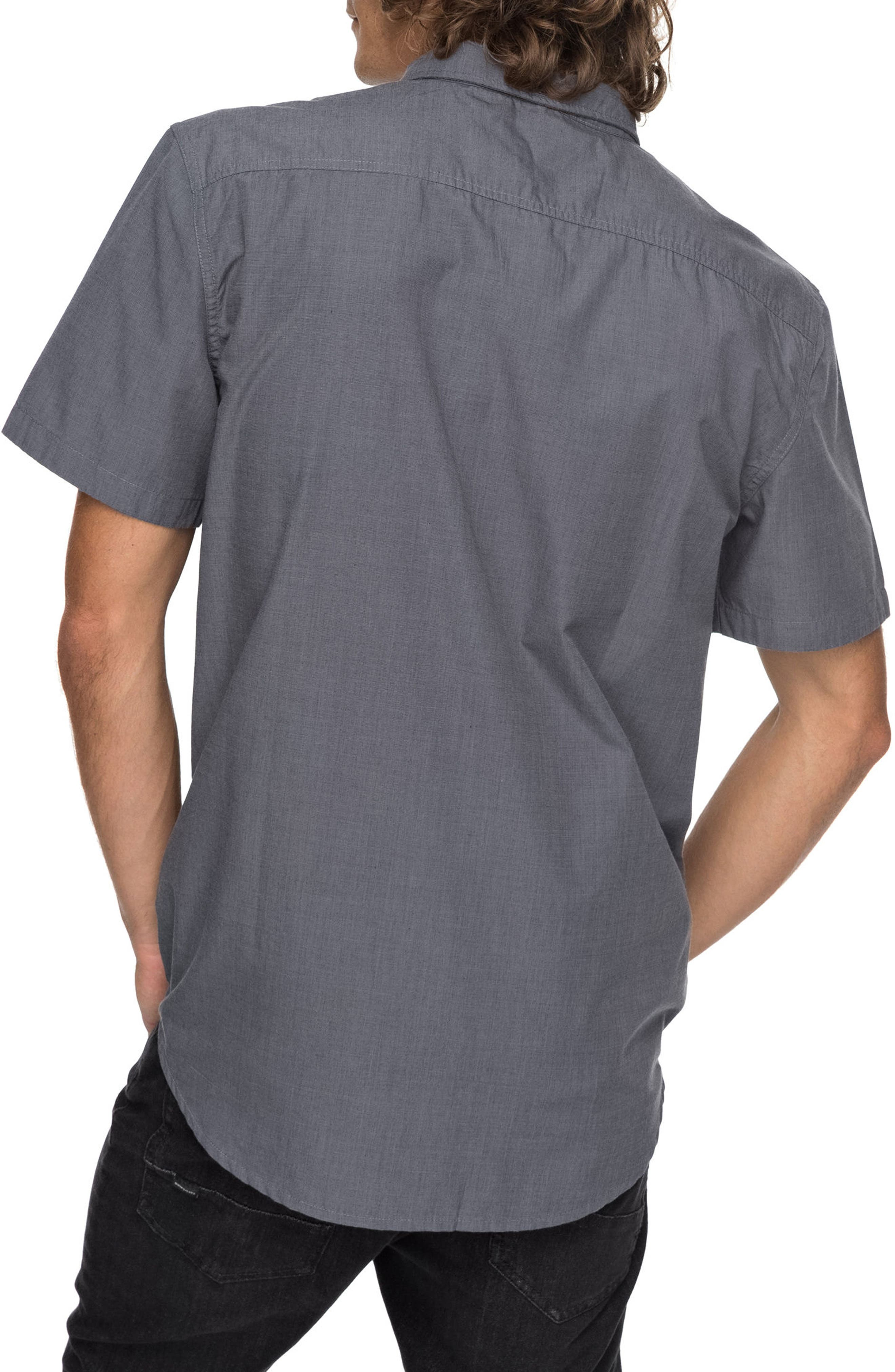 Valley Grove Woven Shirt,                             Alternate thumbnail 2, color,                             020