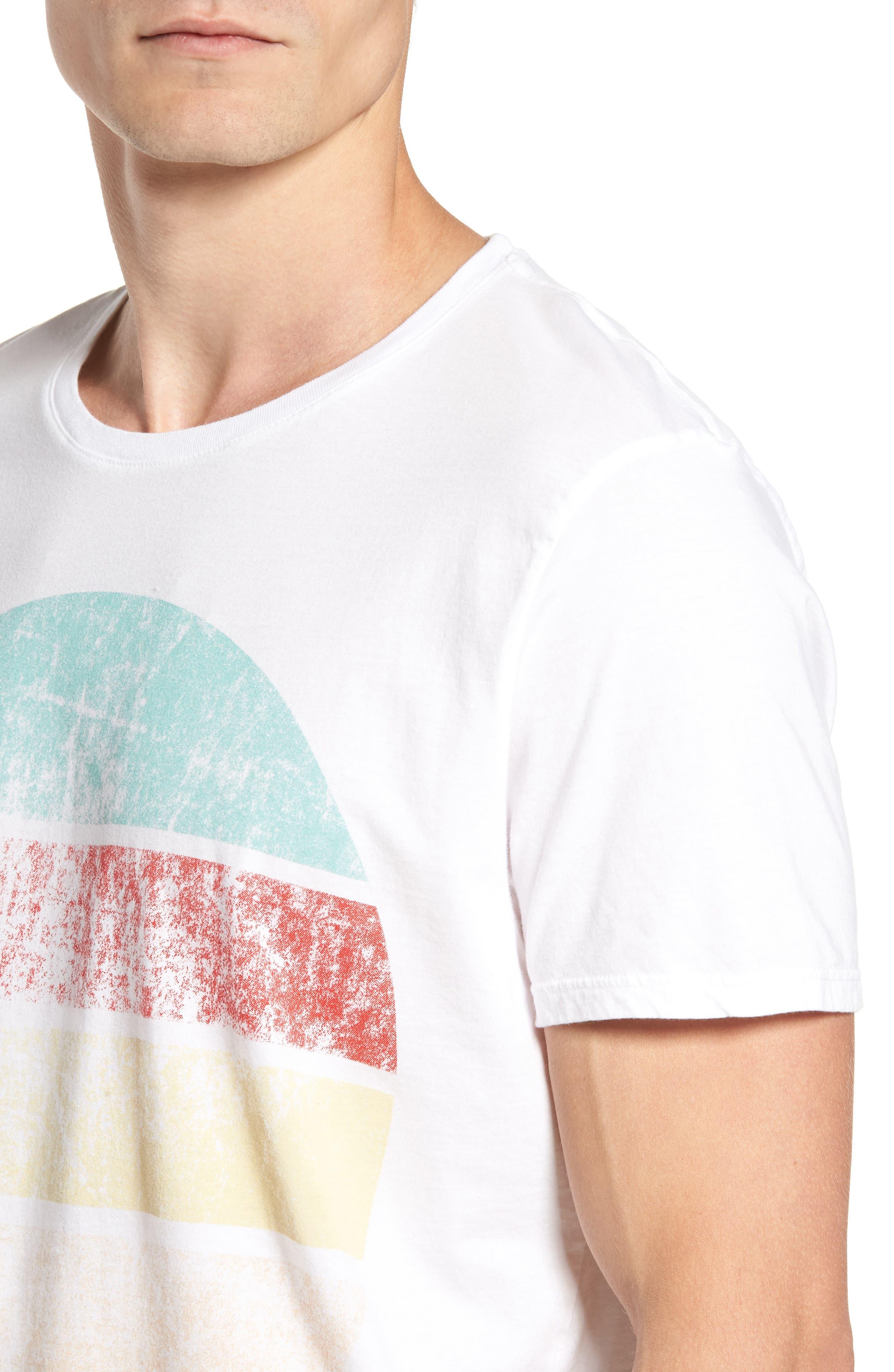 Western Sun T-Shirt,                             Alternate thumbnail 4, color,                             100