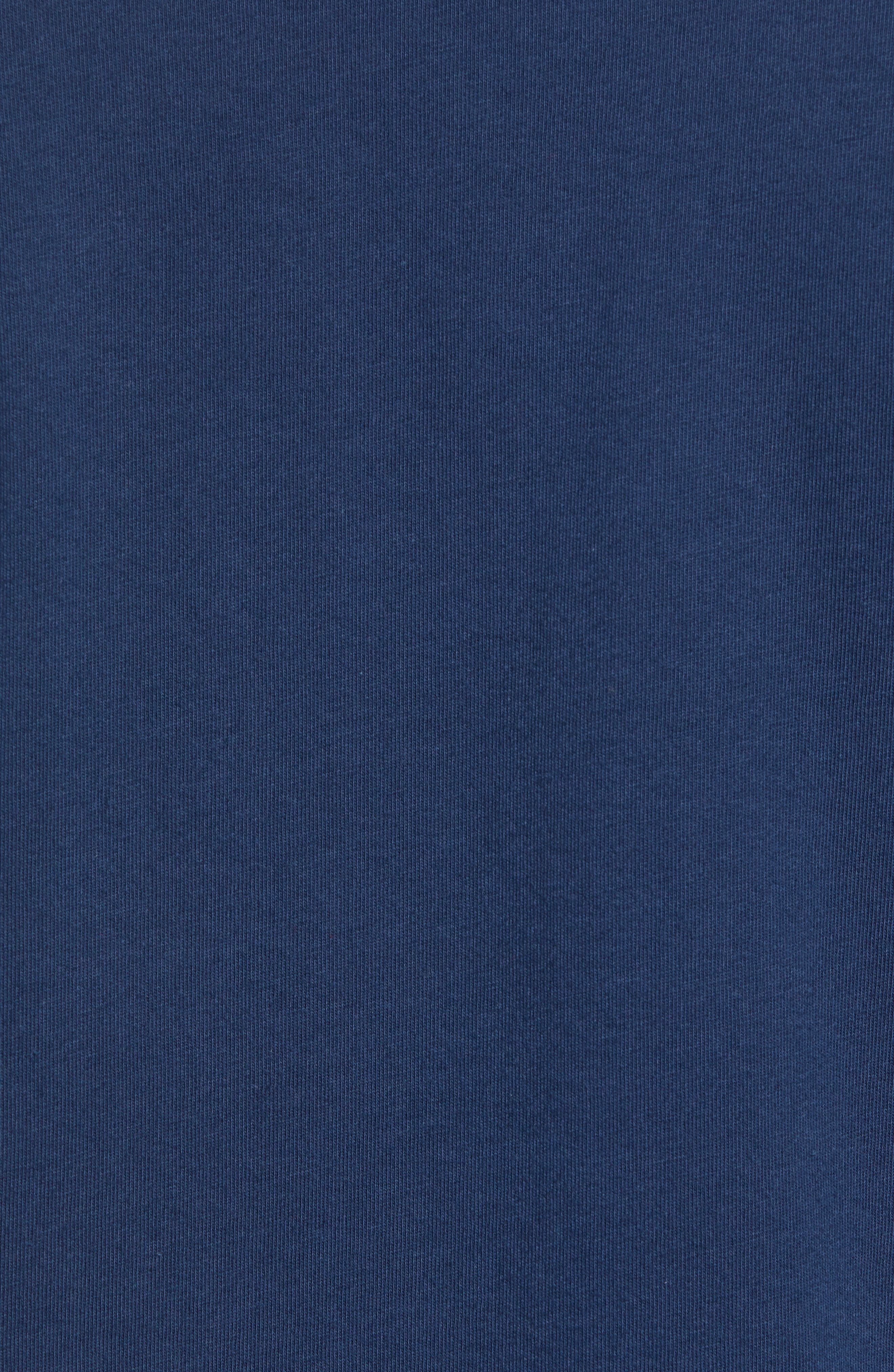 Palm Conditions T-Shirt,                             Alternate thumbnail 5, color,                             NAVY