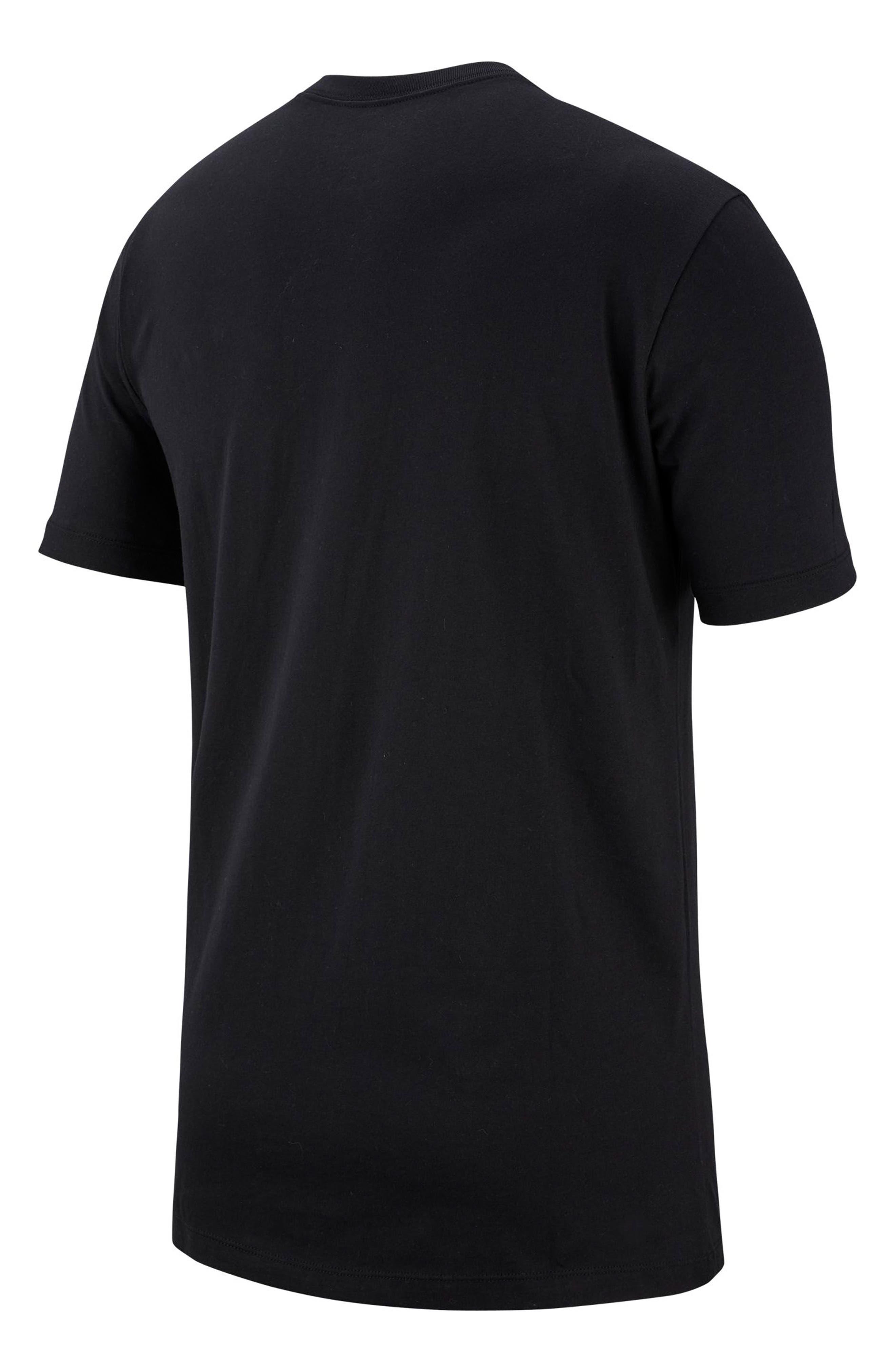 Air Force 1 T-Shirt,                             Alternate thumbnail 7, color,                             BLACK