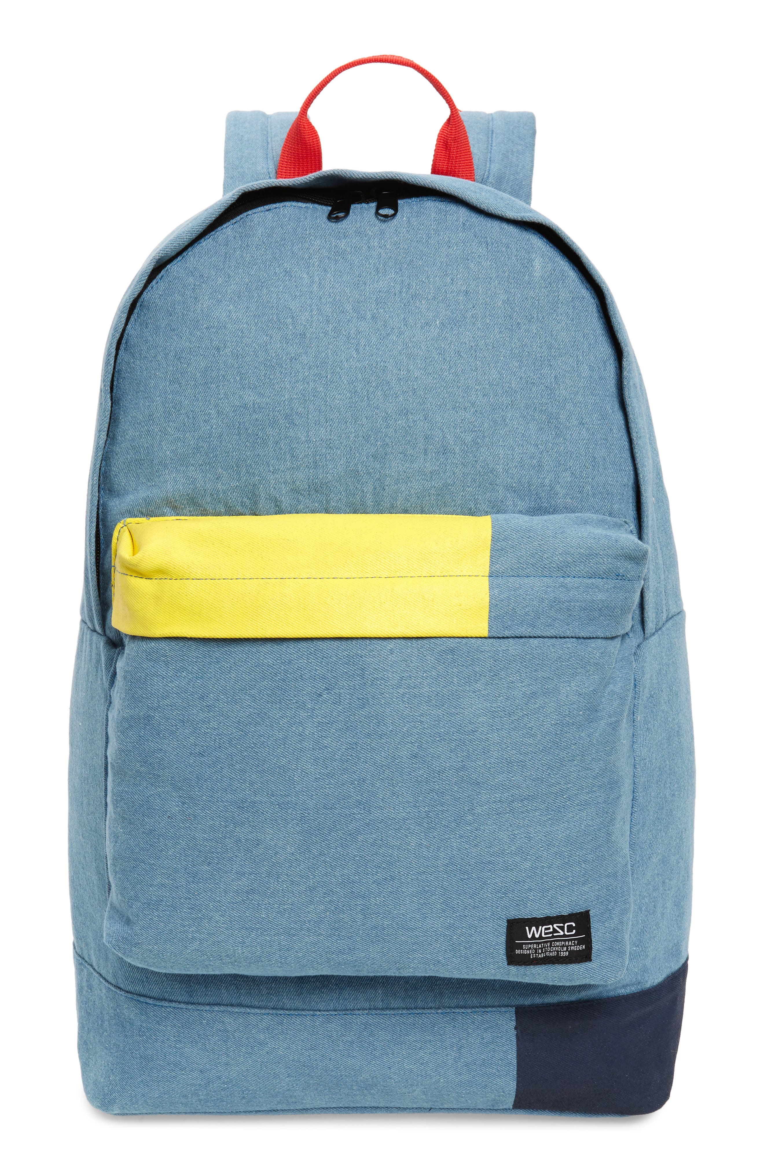 Wesc Chaz Blocks Backpack - Blue
