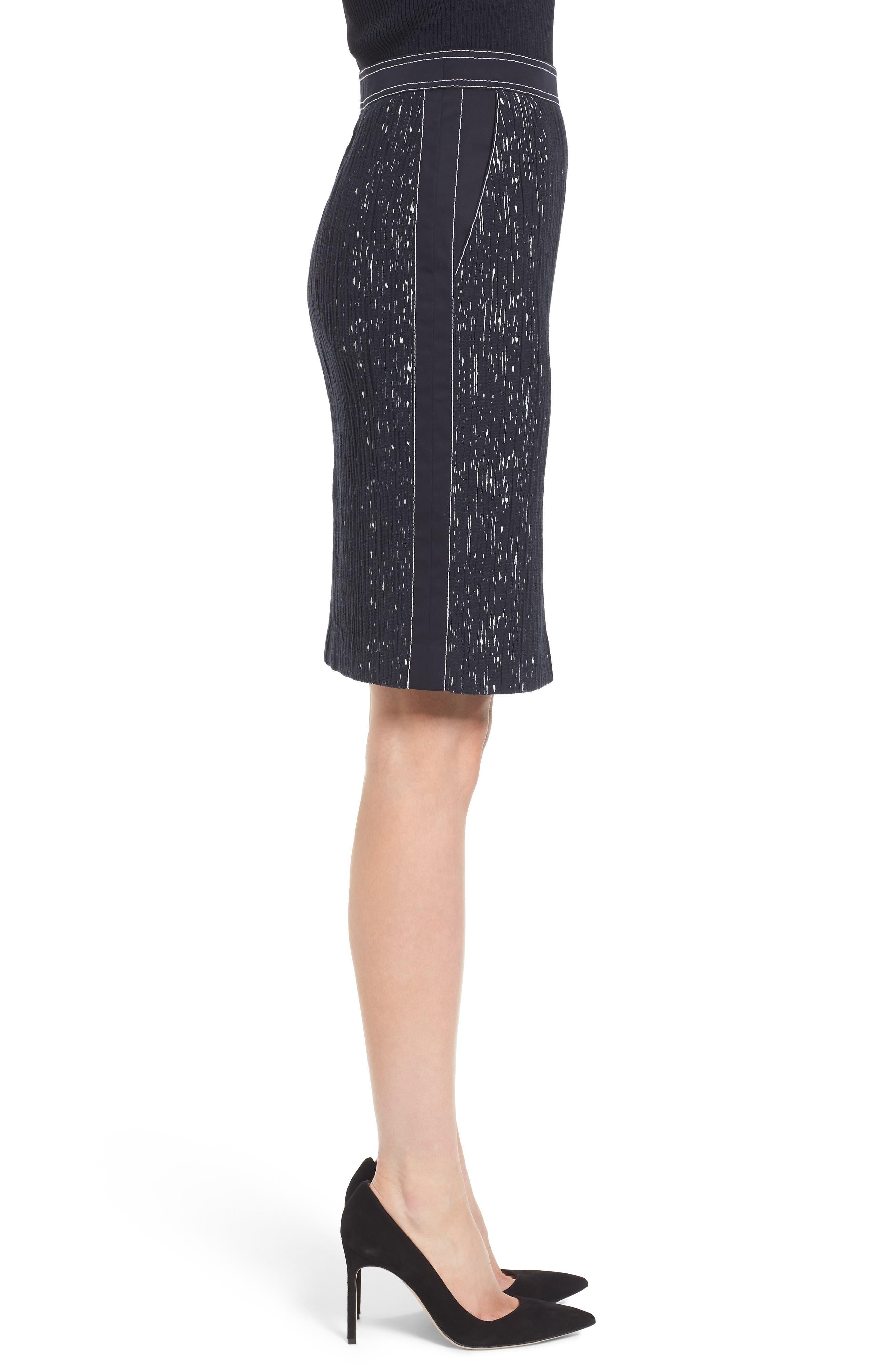 Veleara Pencil Skirt,                             Alternate thumbnail 3, color,