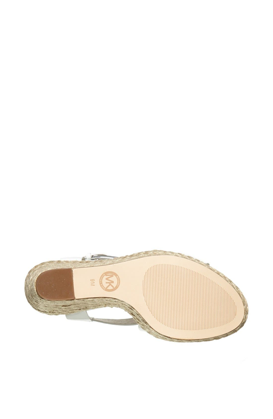 'Giovanna' Wedge Sandal,                             Alternate thumbnail 3, color,                             101