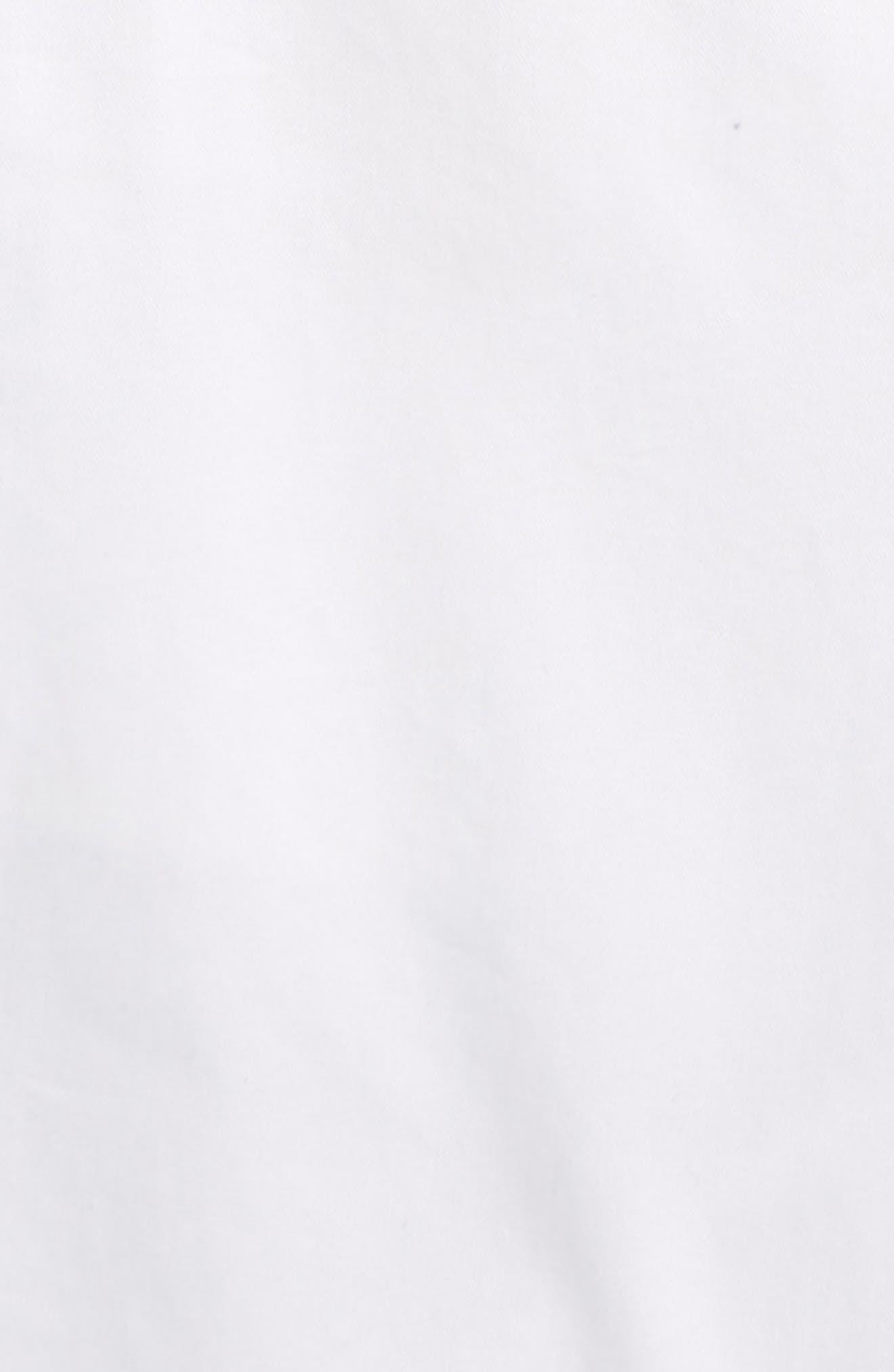 Tristen Cotton Twill Shorts,                             Alternate thumbnail 2, color,                             100