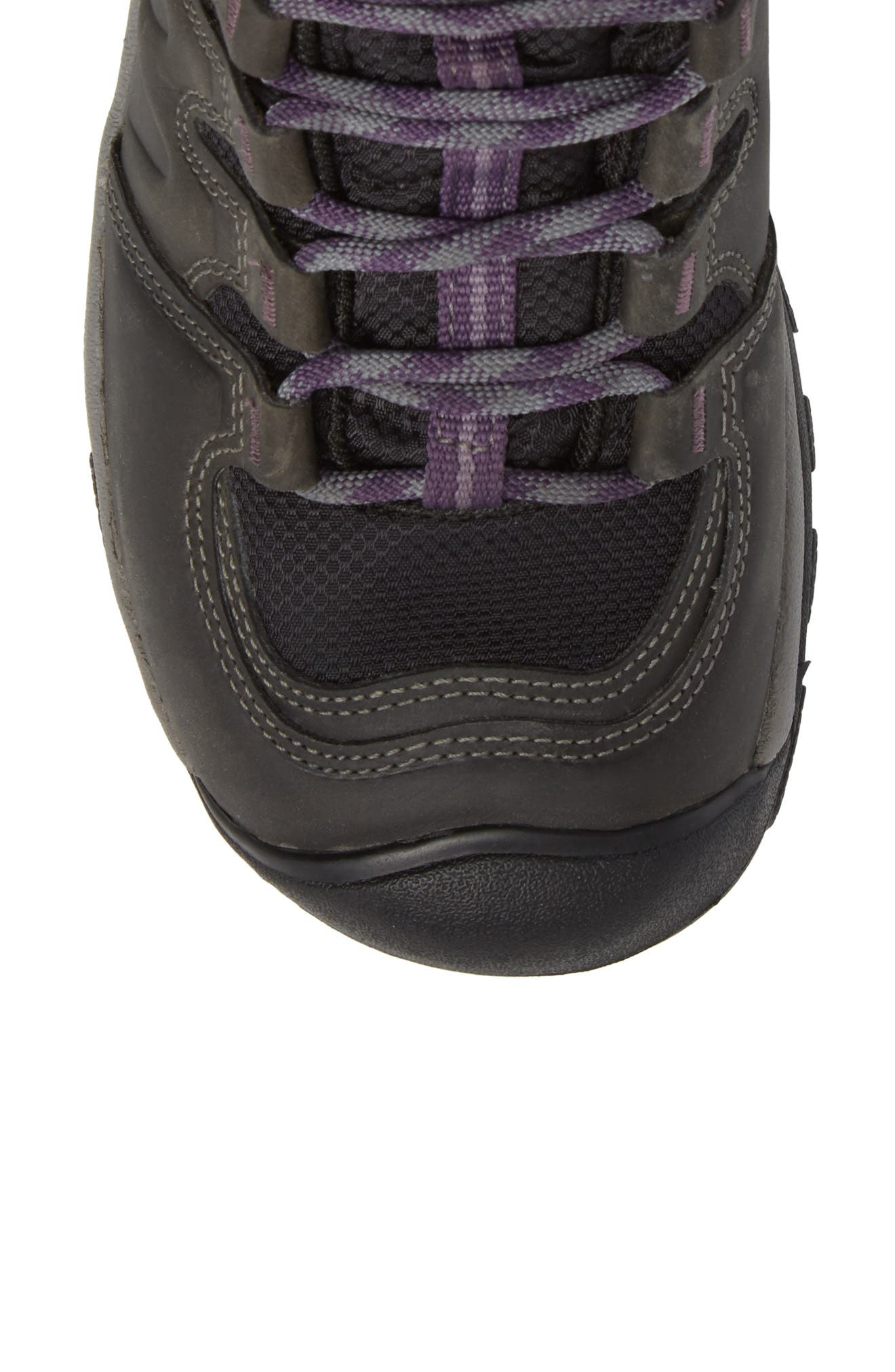 Gypsum II Mid Waterproof Hiking Boot,                             Alternate thumbnail 5, color,                             EARL GREY PURPLE PLUM NUBUCK