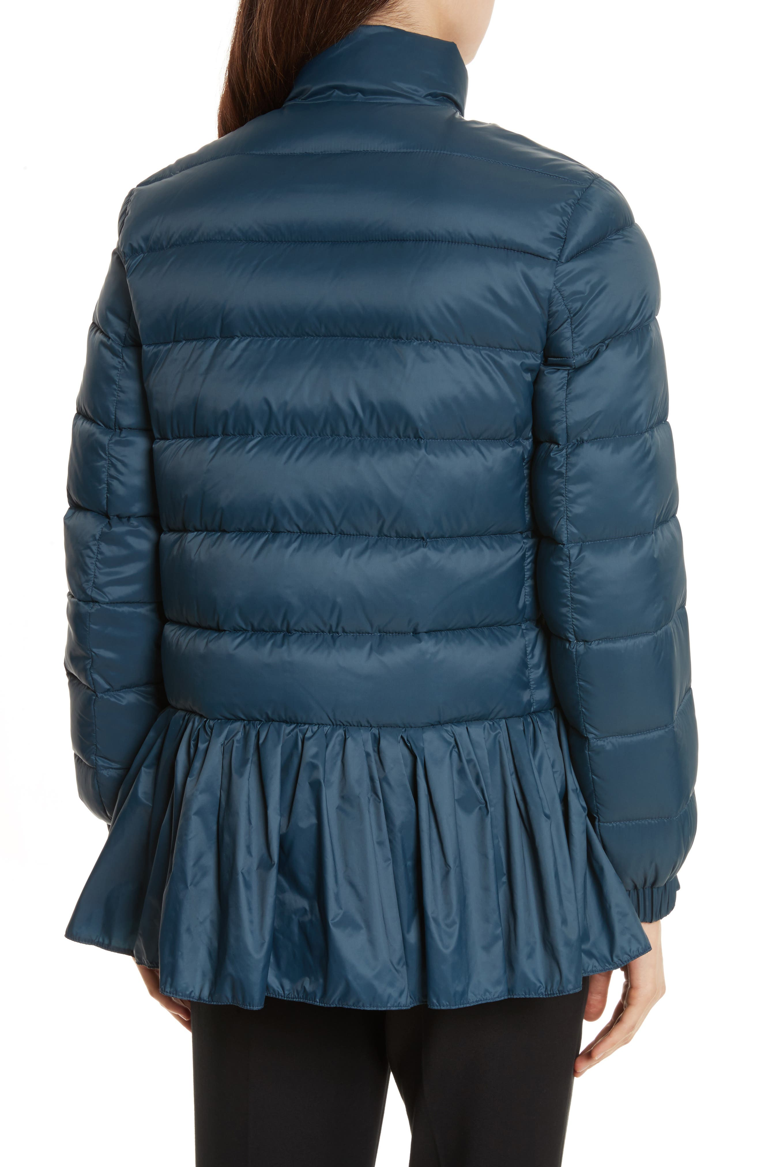 Quilted Peplum Jacket,                             Alternate thumbnail 2, color,                             484
