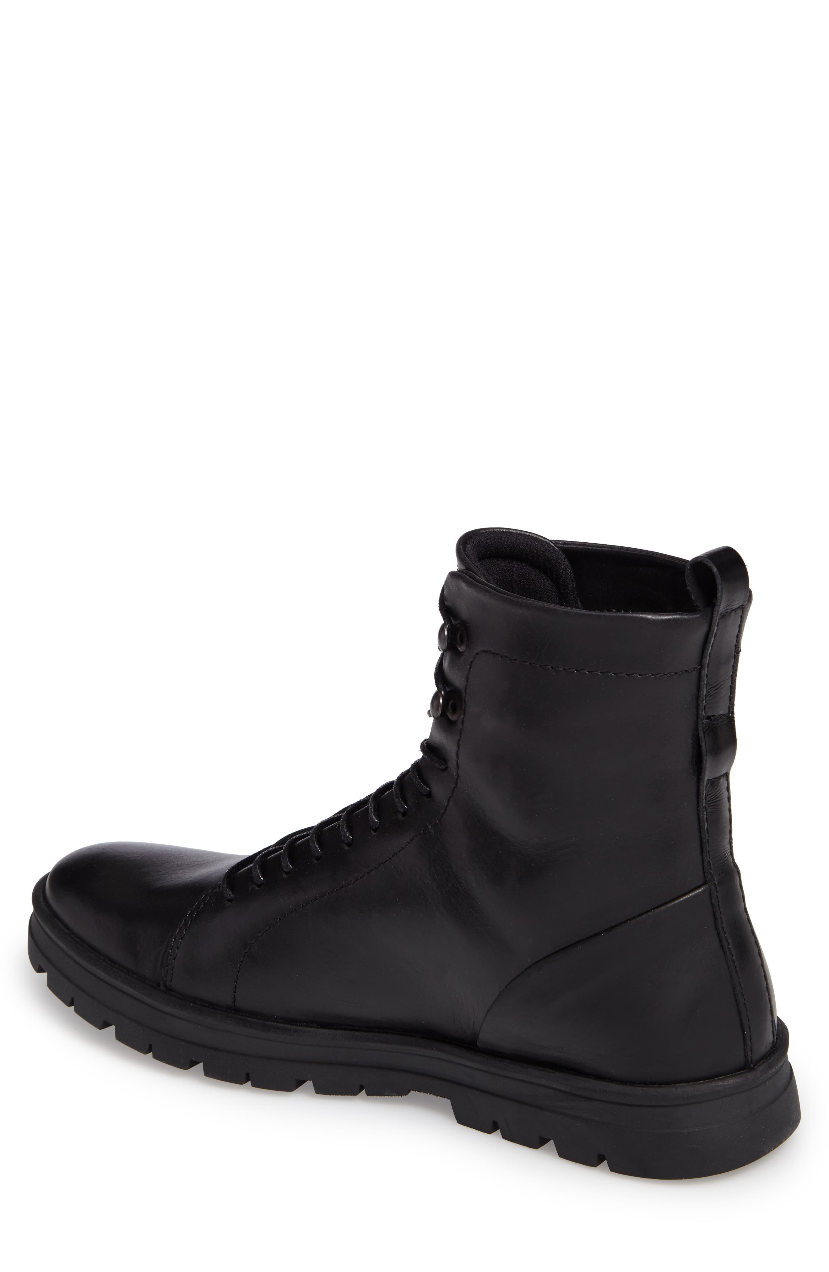 Hudson Waterproof Tall Boot,                             Alternate thumbnail 2, color,                             001