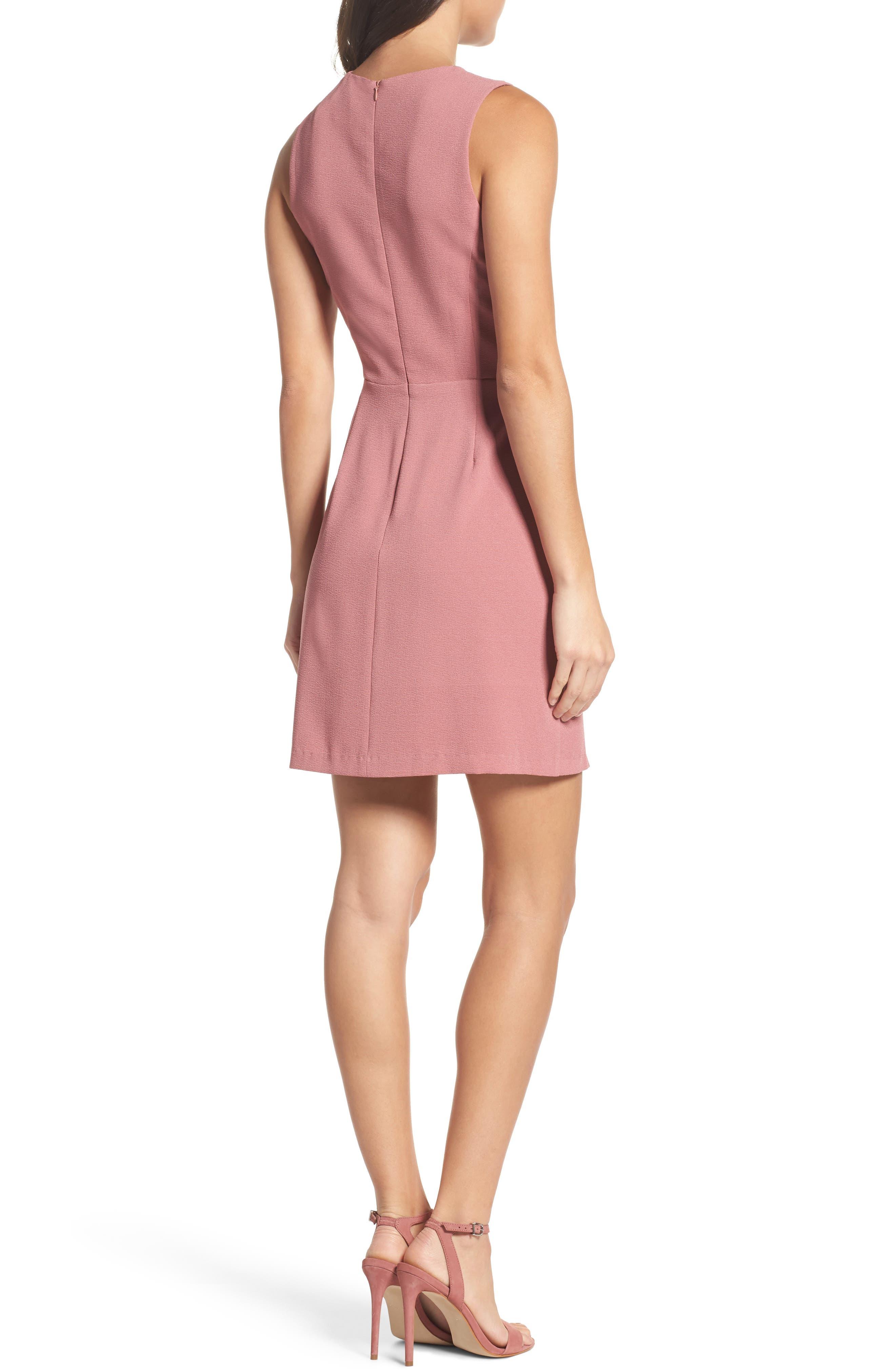 Faux Wrap Dress,                             Alternate thumbnail 2, color,                             533
