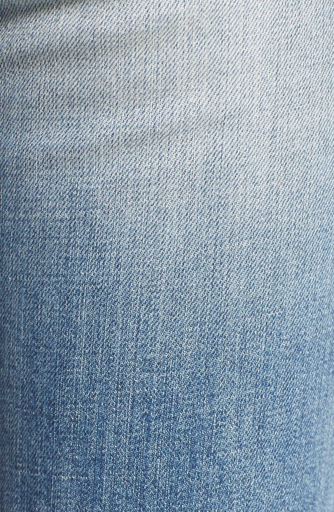 'Collector's - Billie' Ankle Slim Boyfriend Jeans,                             Alternate thumbnail 5, color,                             430