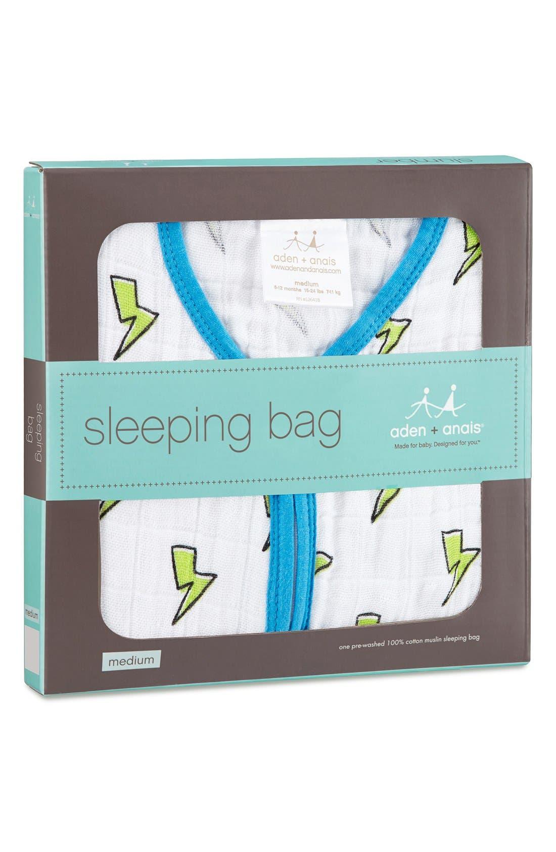 Print Sleeping Bag Wearable Blanket,                             Alternate thumbnail 2, color,                             130
