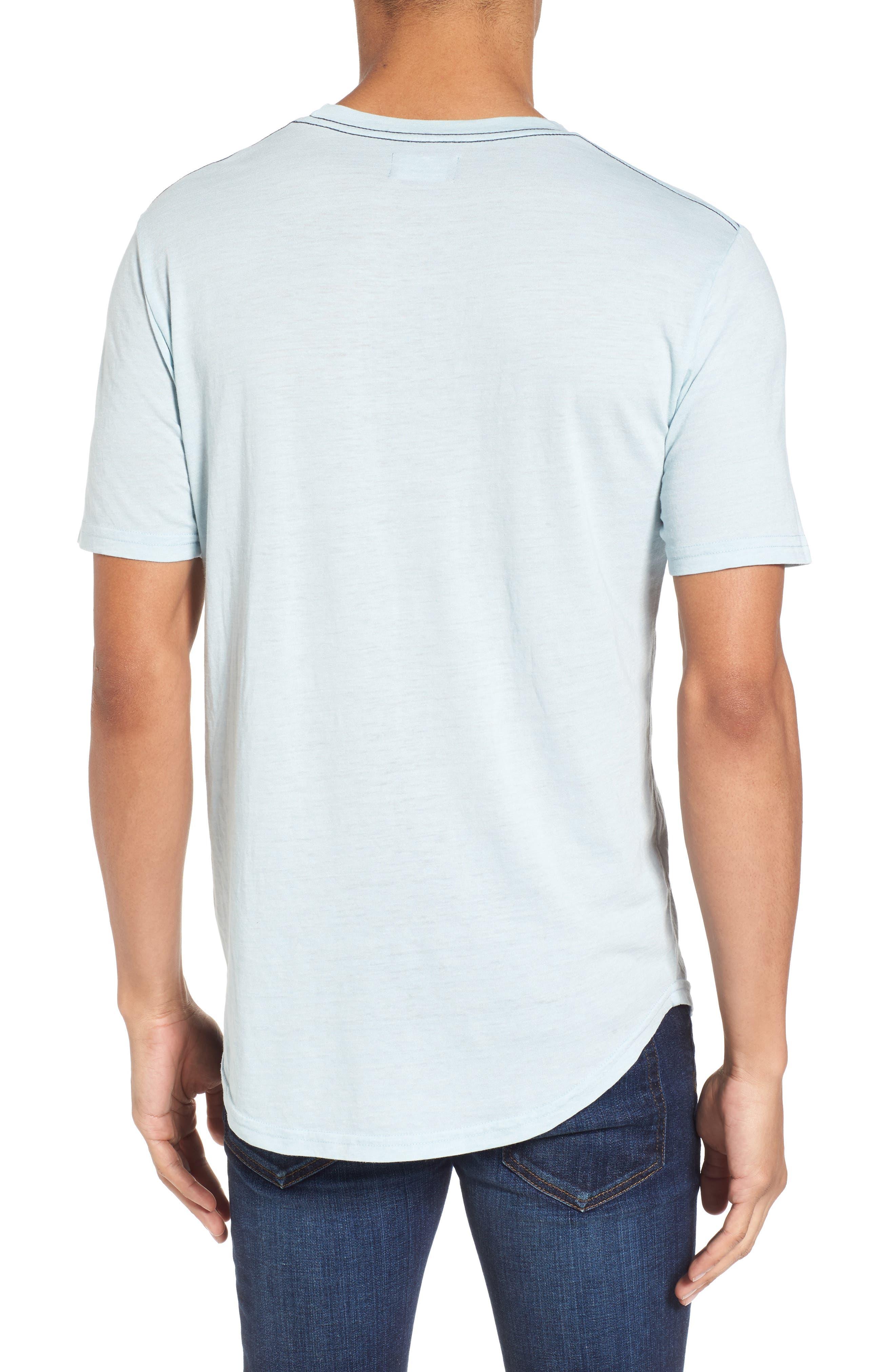 Scallop Triblend Crewneck T-Shirt,                             Alternate thumbnail 31, color,