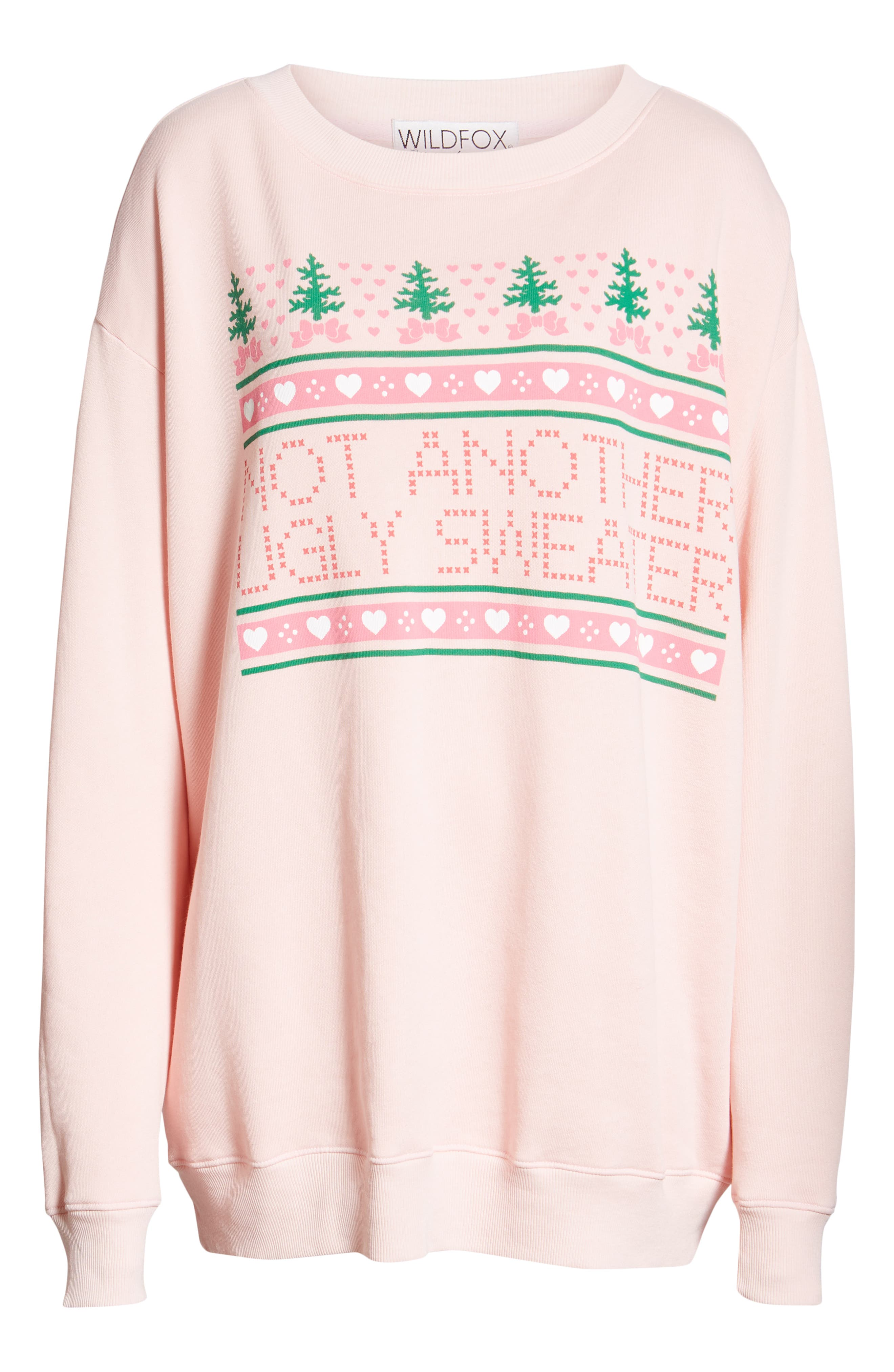 Sweet Stitch Road Trip Pullover,                             Alternate thumbnail 6, color,                             ROMANTIC