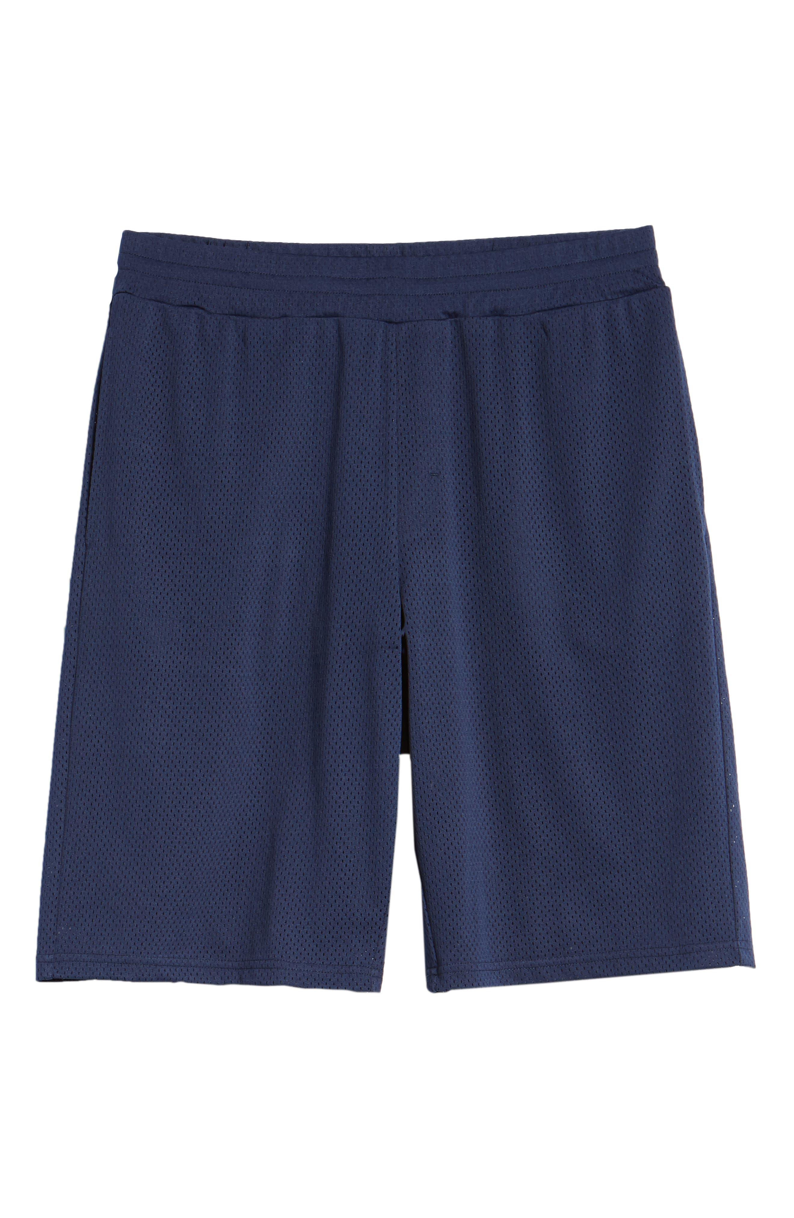 Basketball Shorts,                             Alternate thumbnail 6, color,                             NAVY PEACOAT