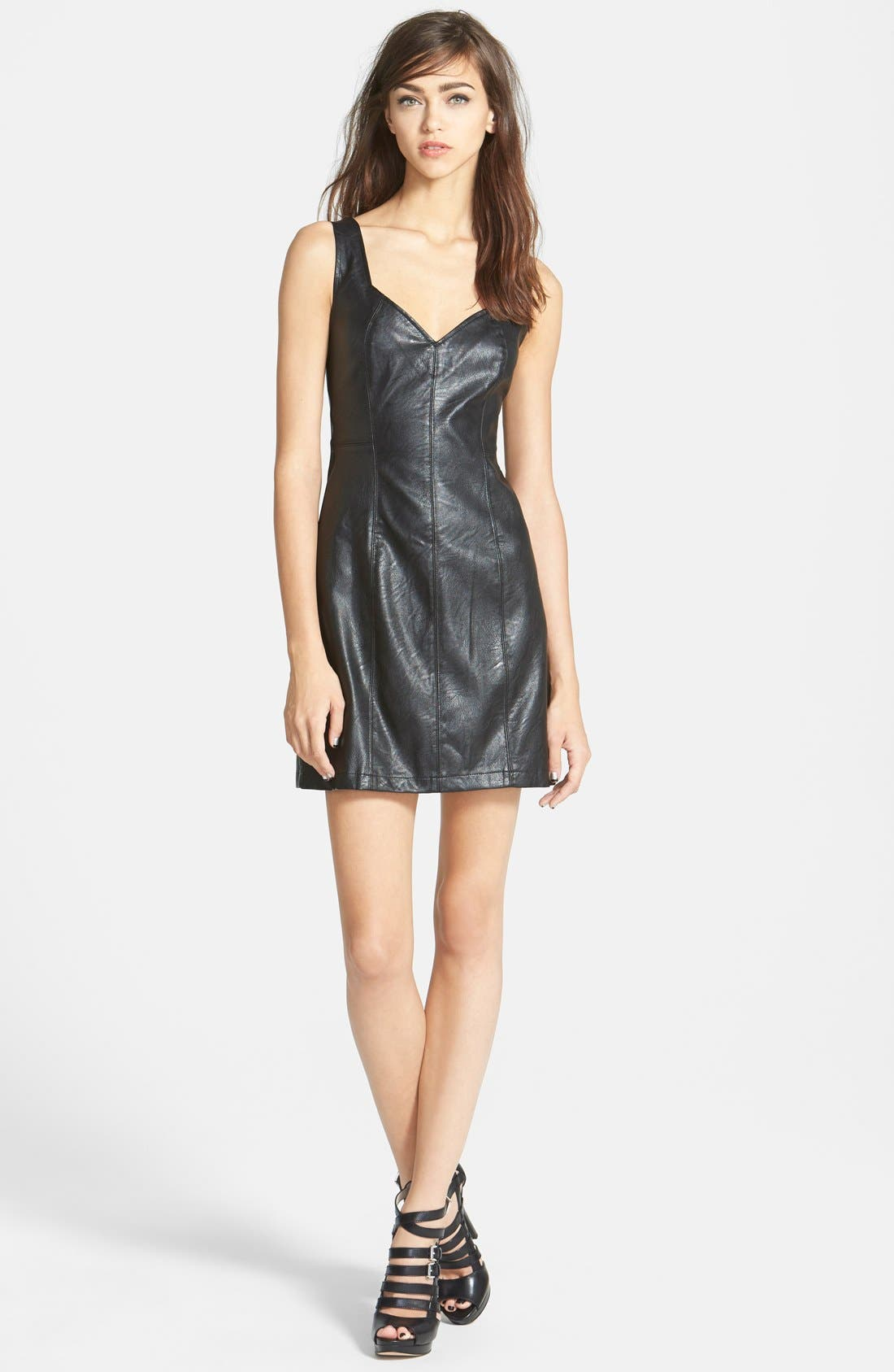 MINKPINK 'Pearl of a Girl' Sheath Dress, Main, color, 001