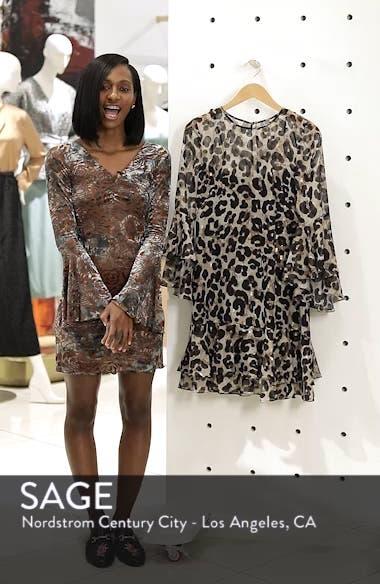 Bell Sleeve Flounce Dress, sales video thumbnail