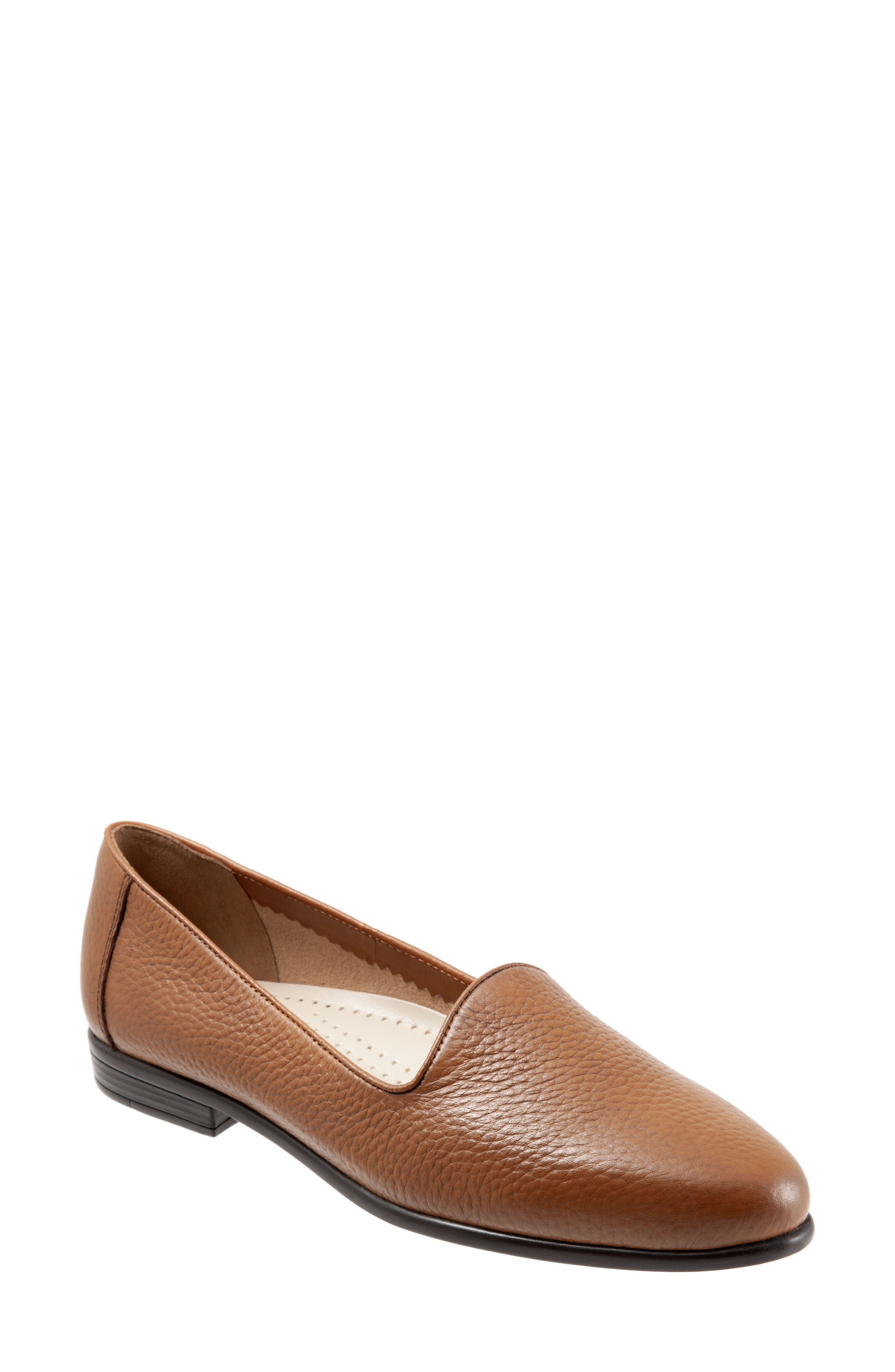 Liz Loafer,                             Main thumbnail 1, color,                             TAN LEATHER