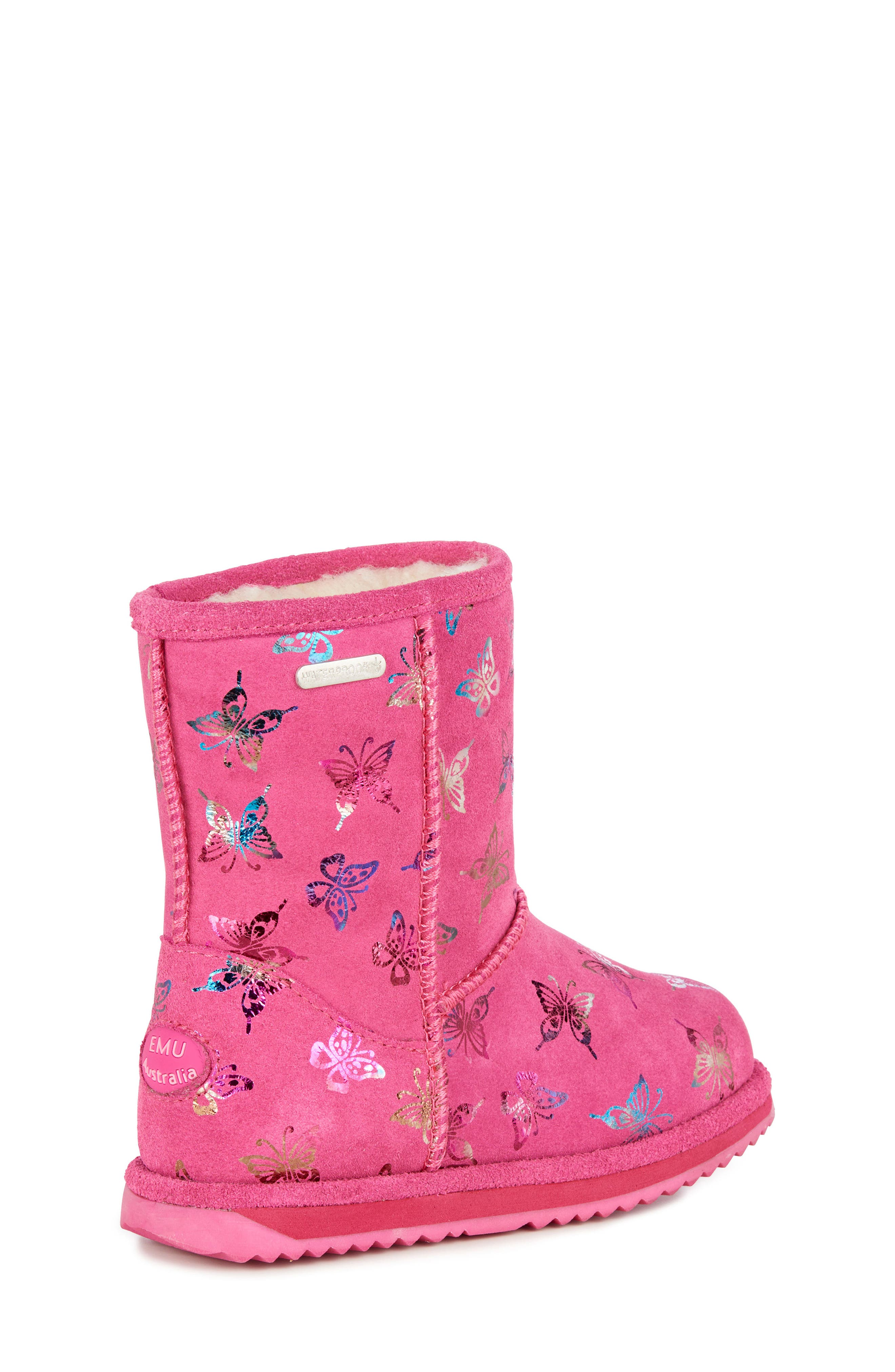 Animal Print Boots,                             Alternate thumbnail 7, color,                             HOT PINK