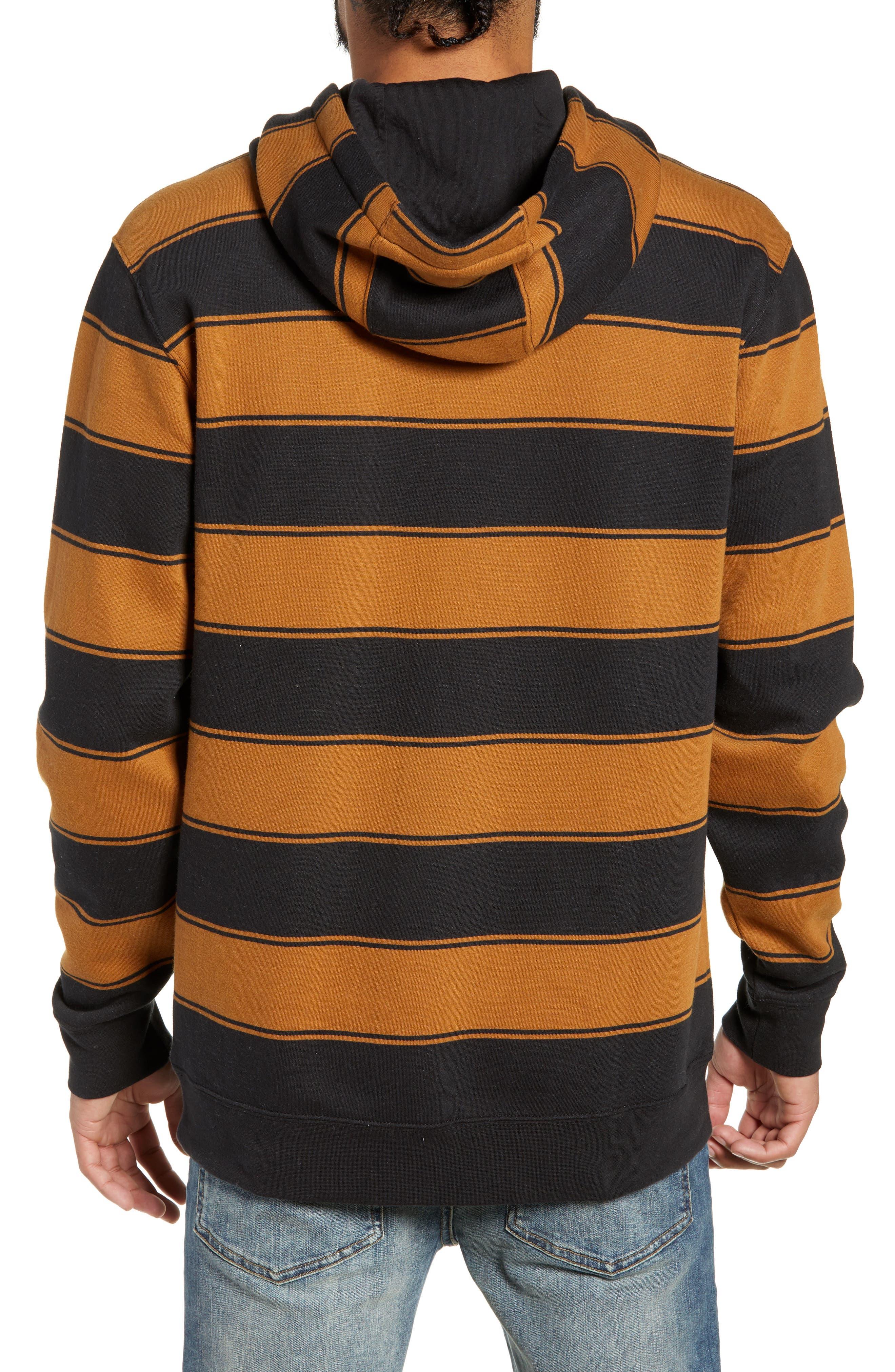 Tall Box Stripe Hoodie Sweatshirt,                             Alternate thumbnail 2, color,                             001