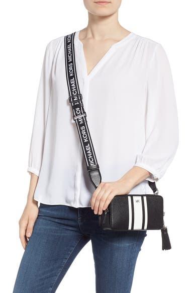 103ae2985b05 MICHAEL Michael Kors Small Leather Camera Bag