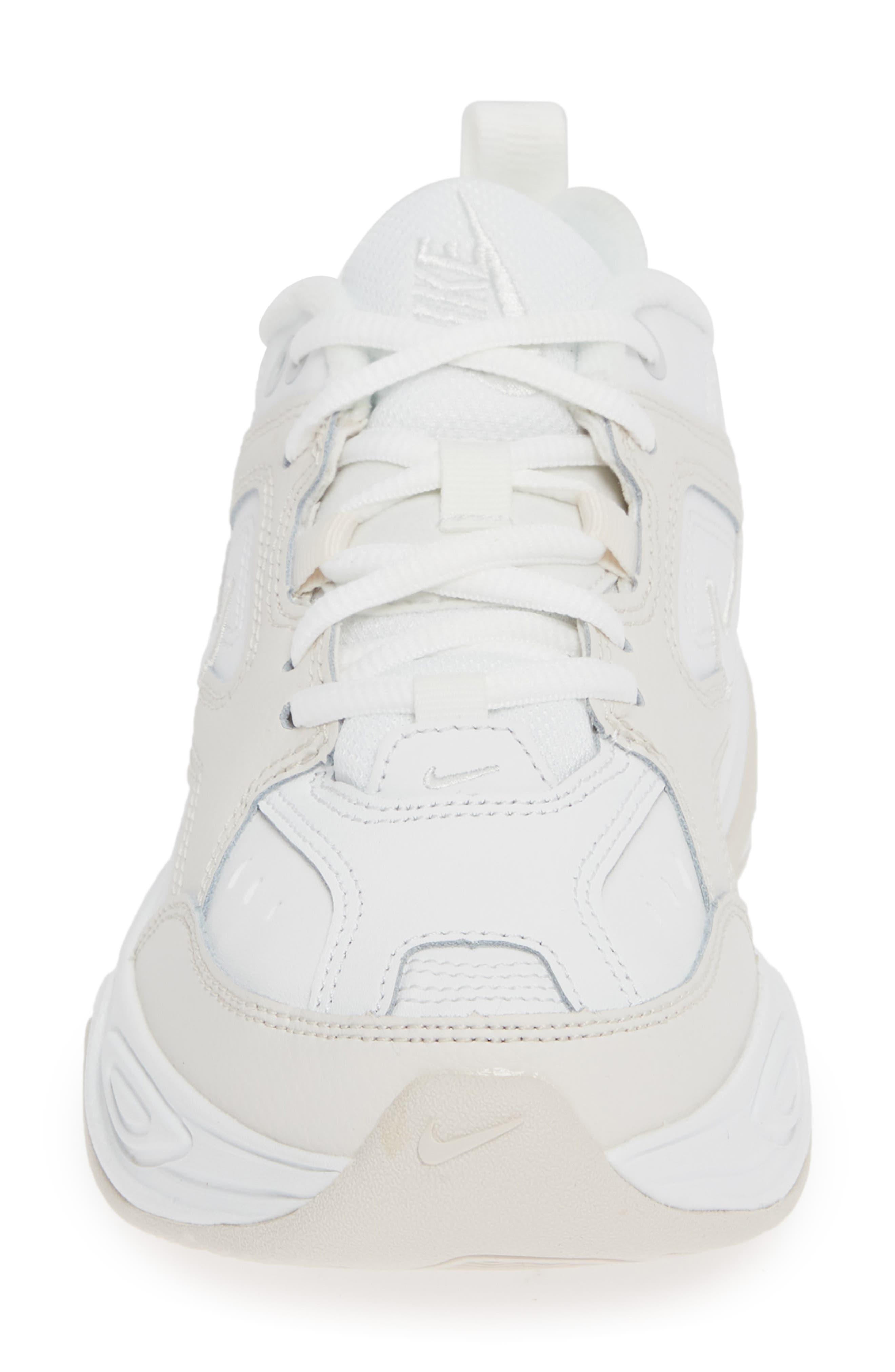 M2K Tekno Sneaker,                             Alternate thumbnail 4, color,                             WHITE