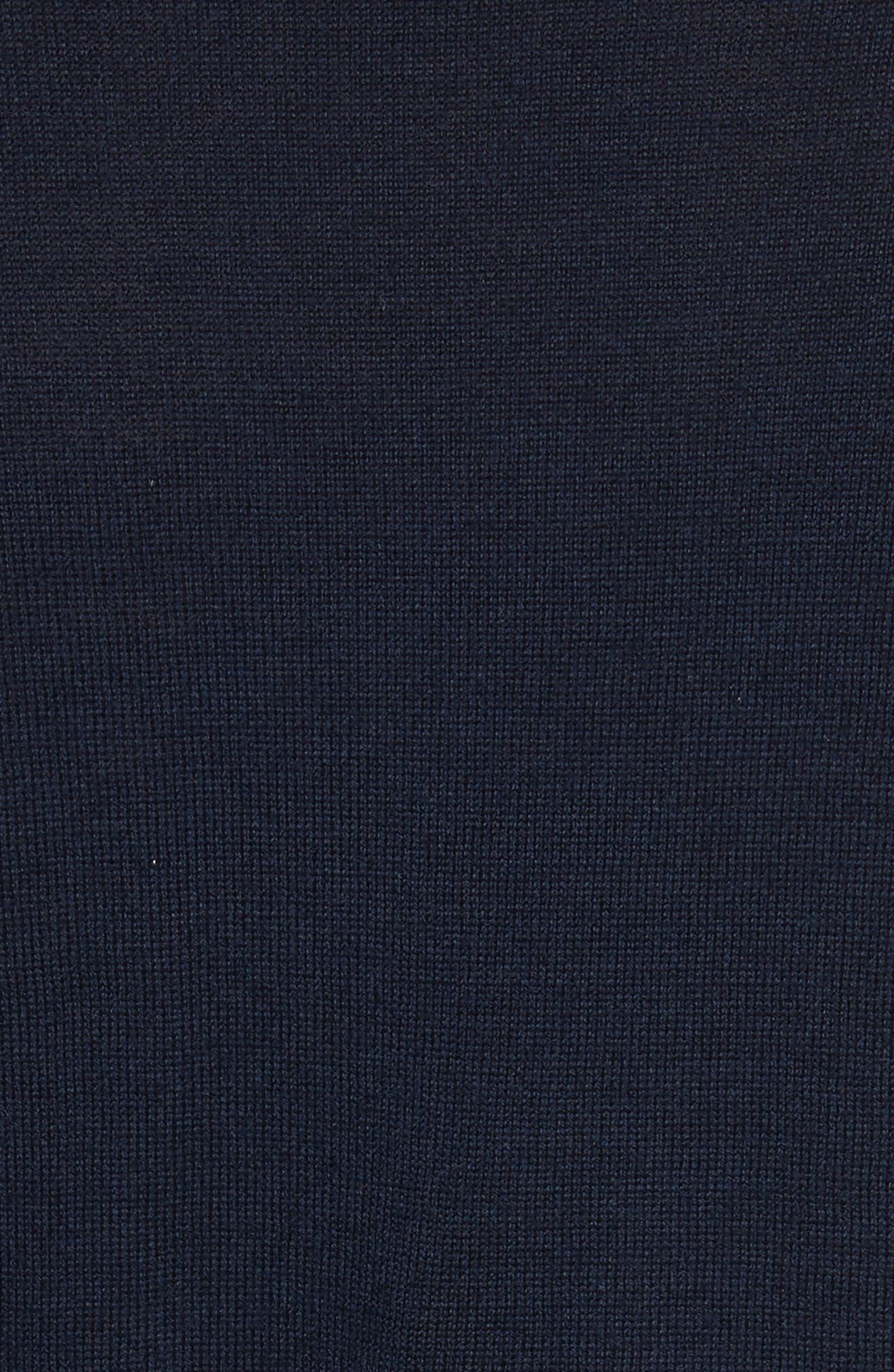 Roscoe Mixed Media Sweater,                             Alternate thumbnail 5, color,                             410