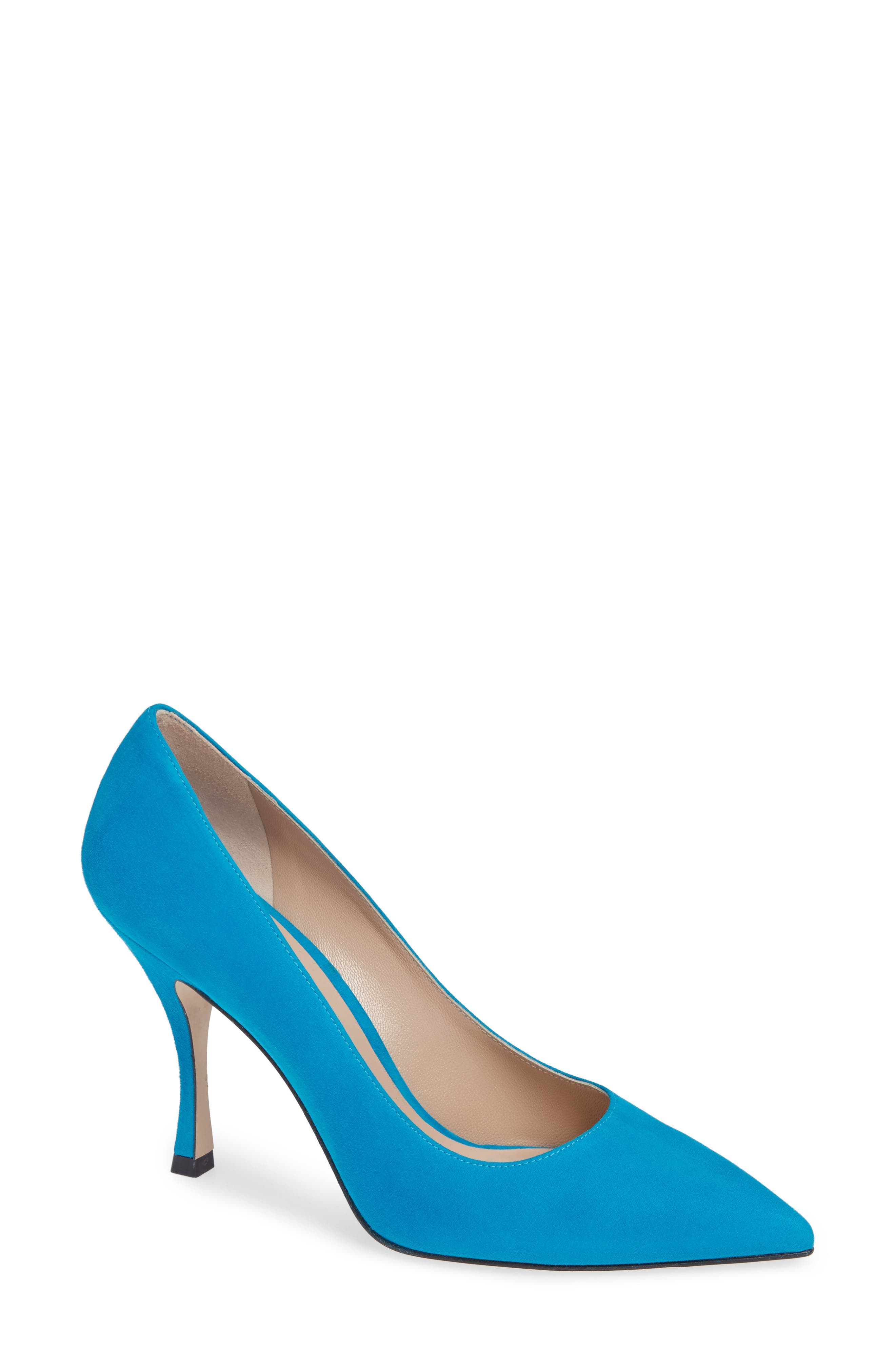 Tippi Pump,                             Main thumbnail 1, color,                             OCEANIC SUEDE