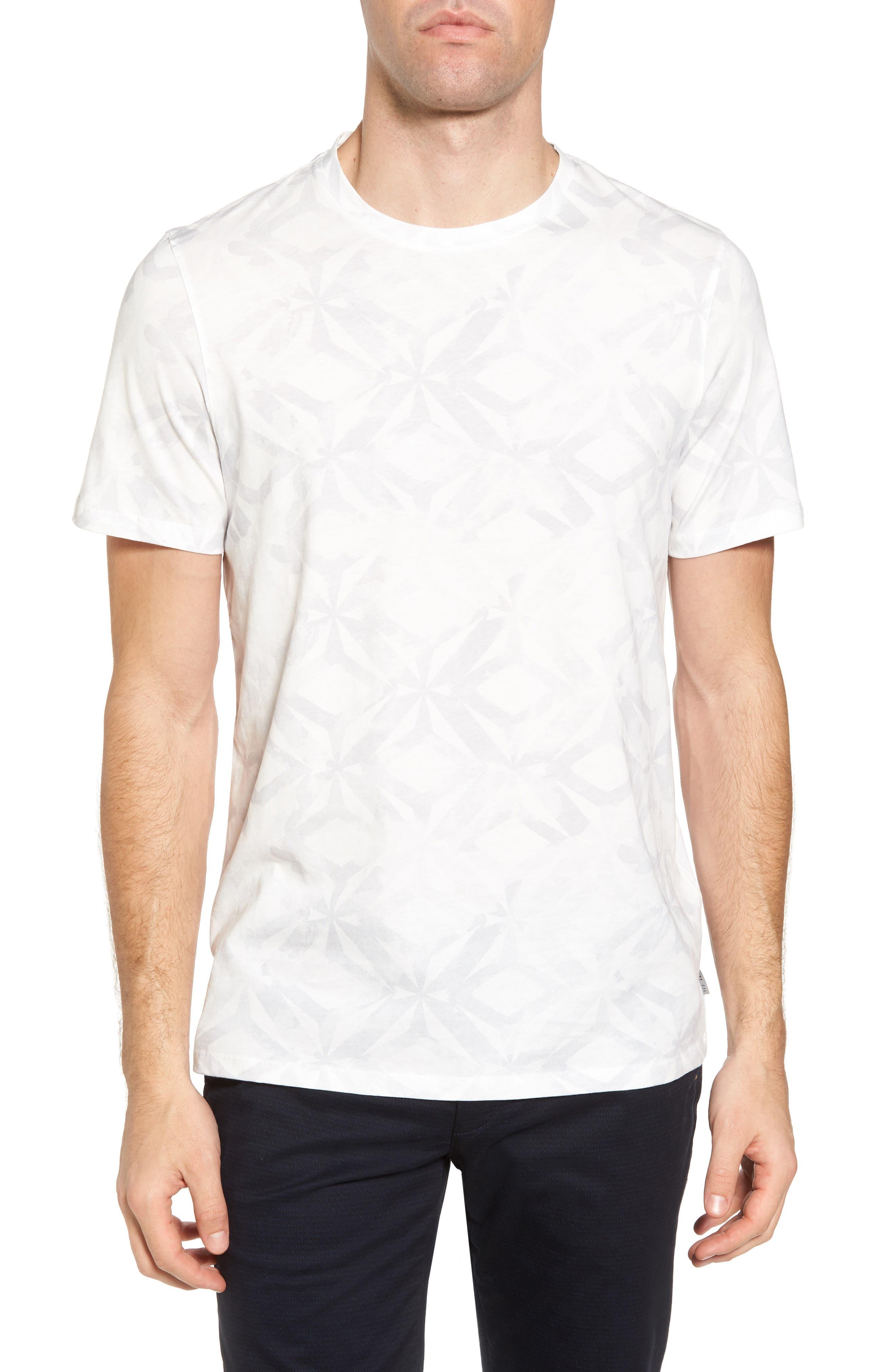 Woof Batik Print T-Shirt,                             Main thumbnail 1, color,                             110