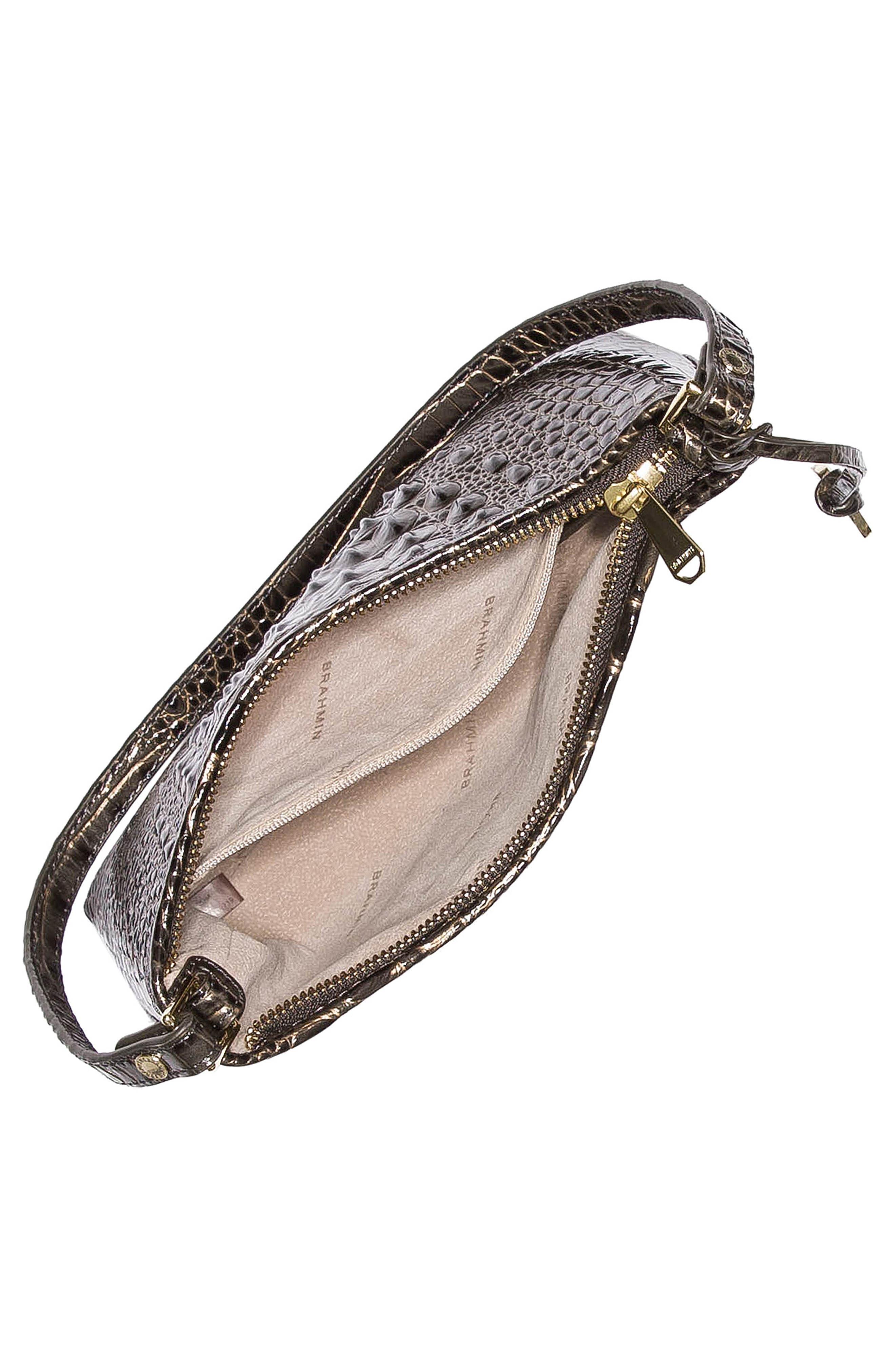 'Anytime - Mini' Convertible Handbag,                             Alternate thumbnail 3, color,                             GRAPHITE