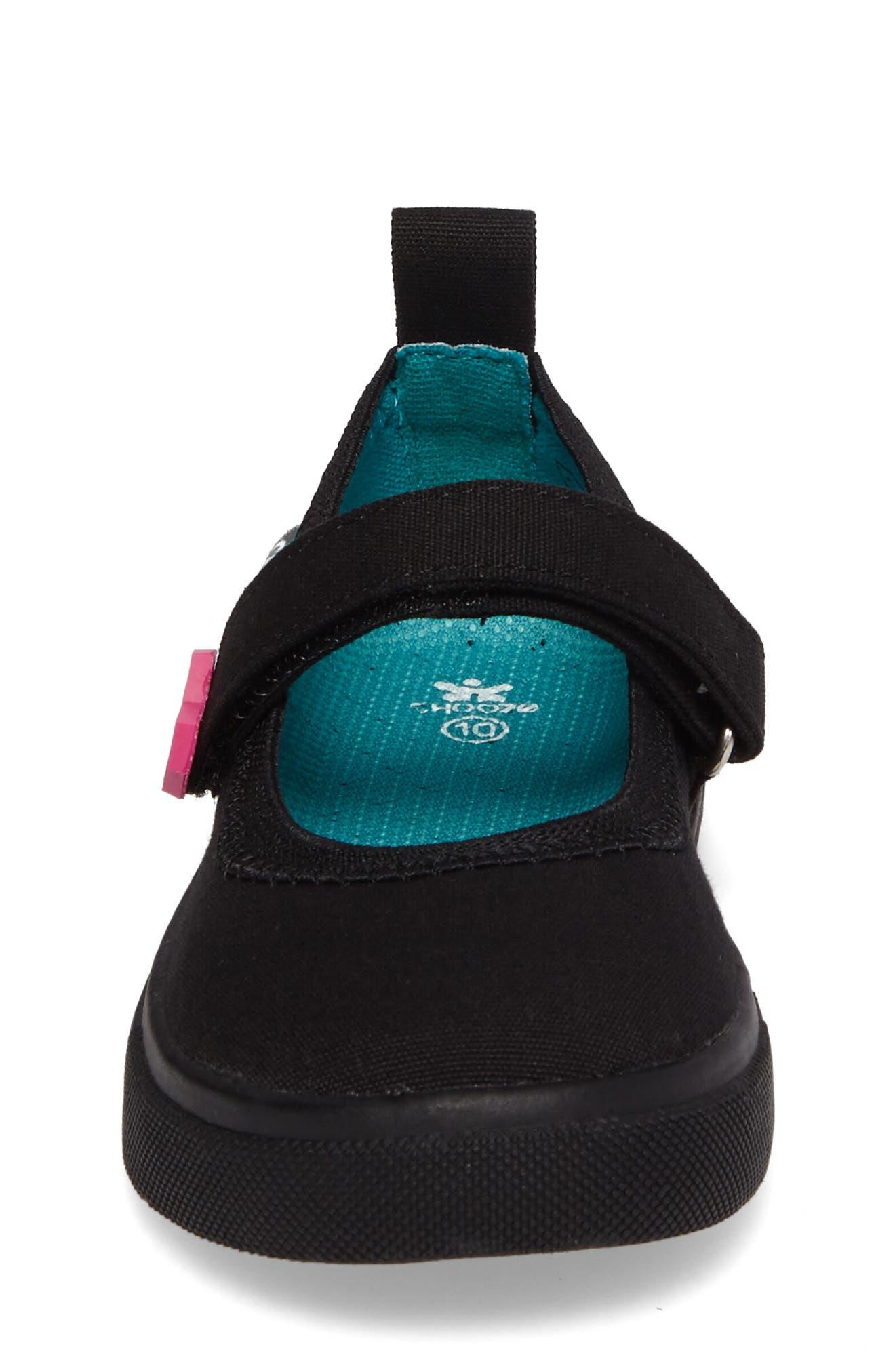 Skip Mary Jane Sneaker,                             Alternate thumbnail 4, color,                             016