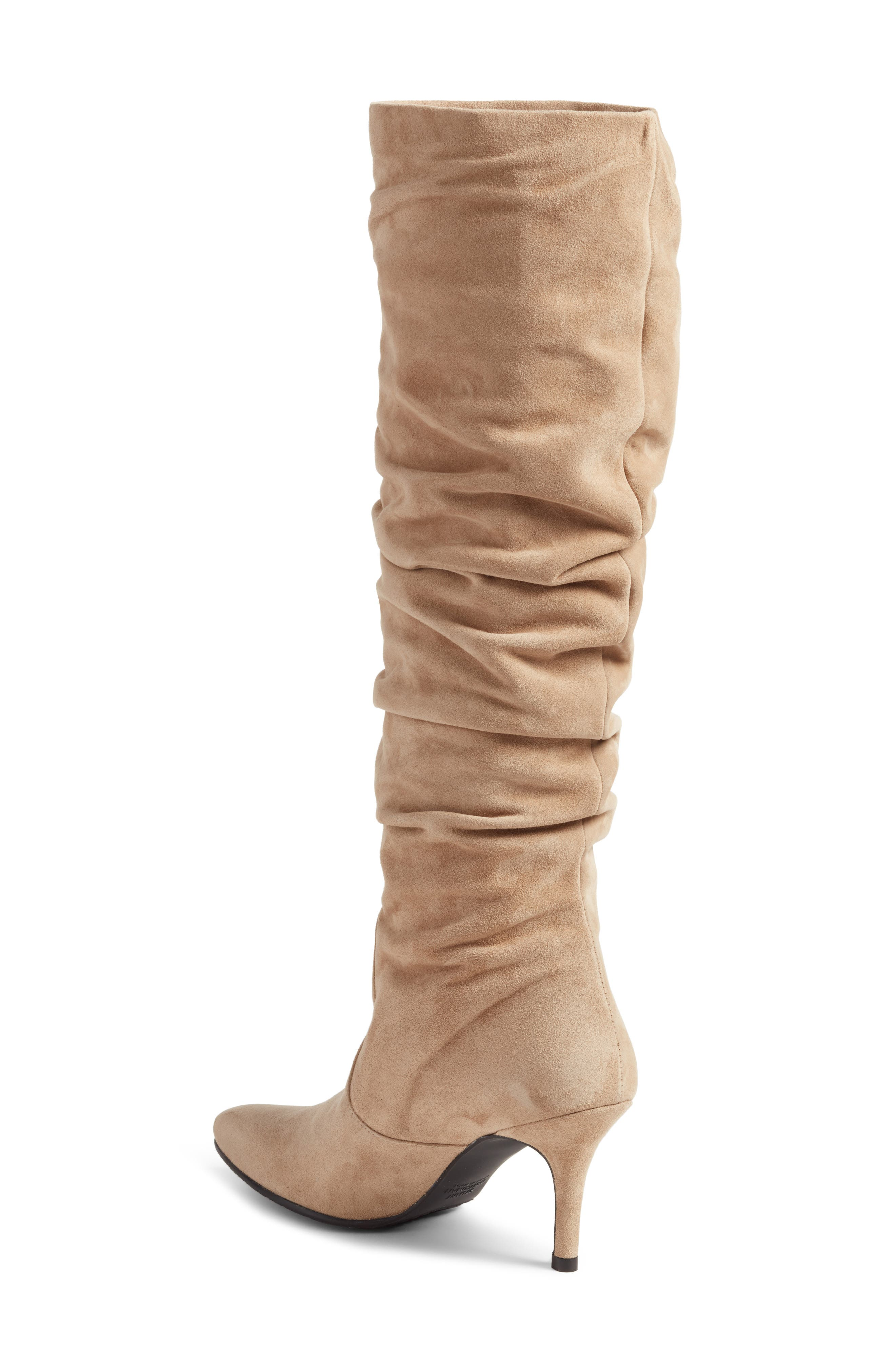 Lafayette Slouch Boot,                             Alternate thumbnail 2, color,                             MOJAVE SUEDE