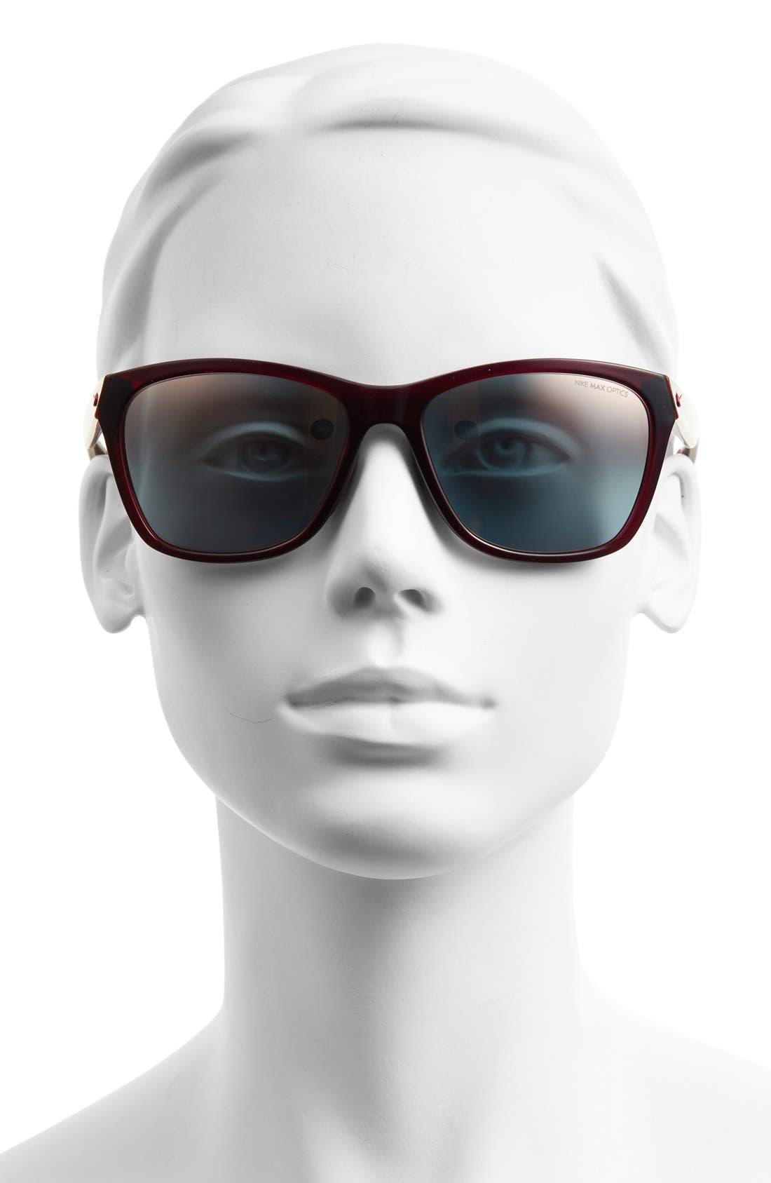 'Vital' 58mm Sunglasses,                             Alternate thumbnail 2, color,                             600