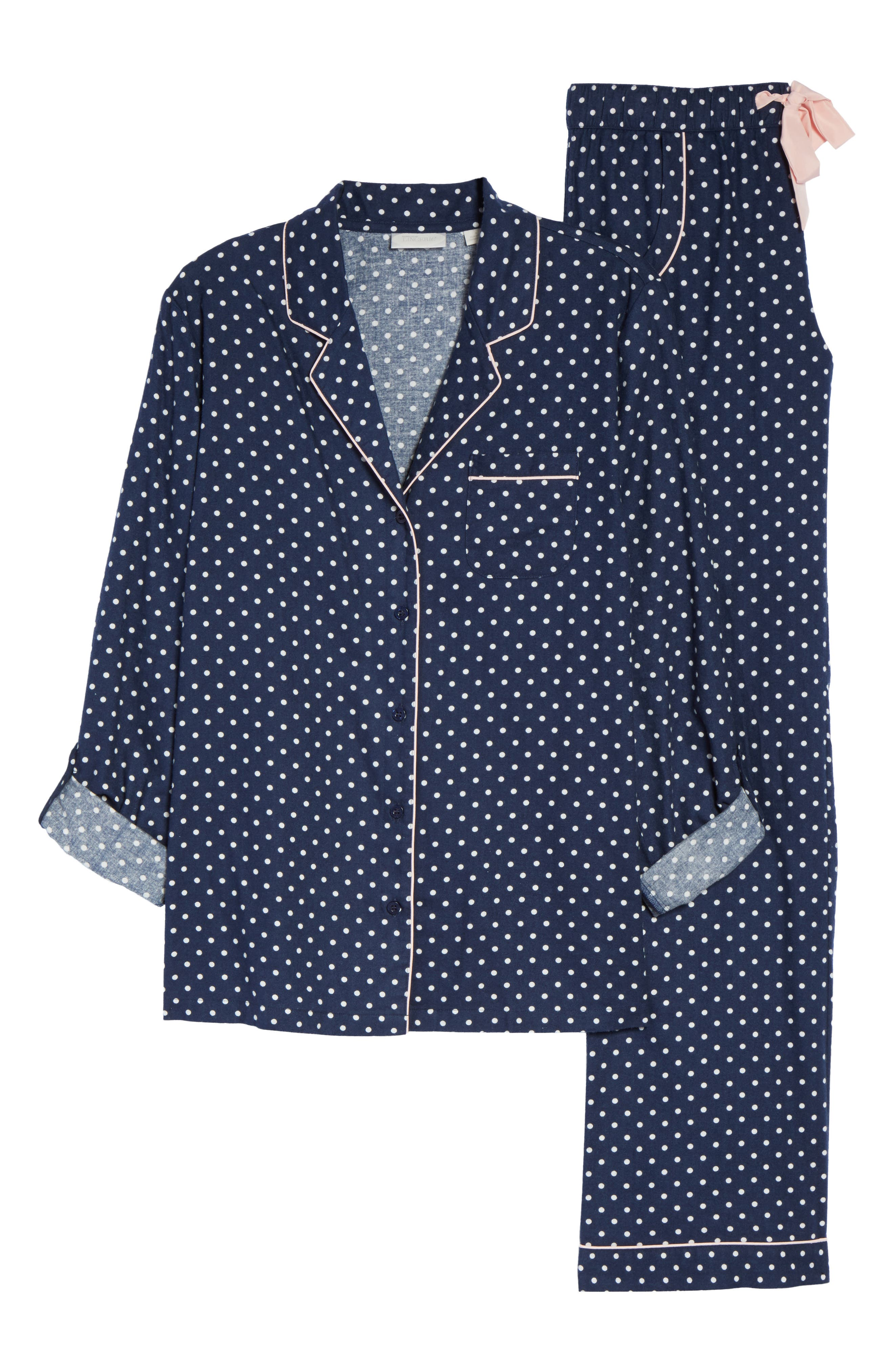 Cotton Twill Pajamas,                             Alternate thumbnail 6, color,                             414