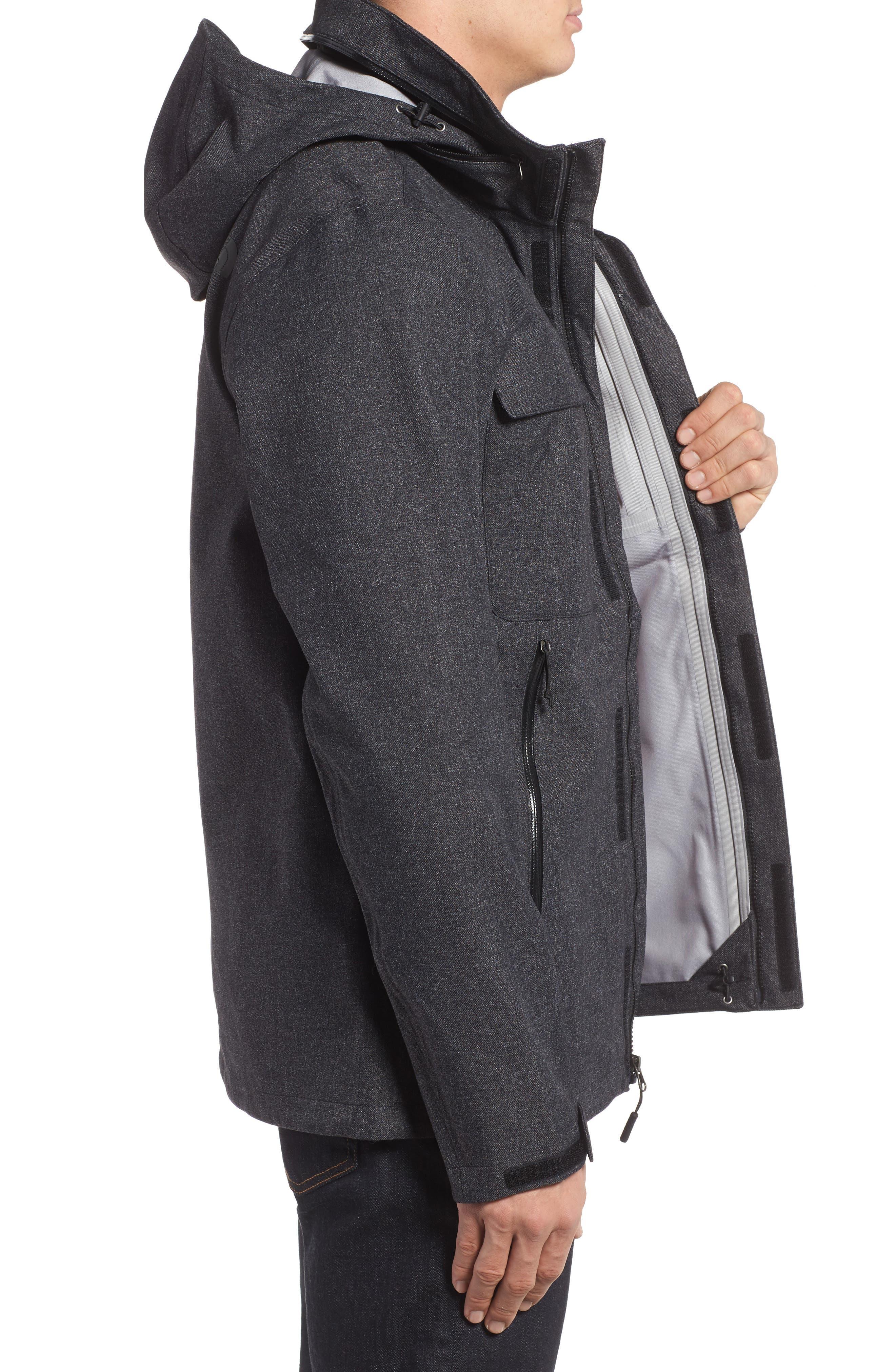 Kassler DryVent Field Jacket,                             Alternate thumbnail 3, color,                             001