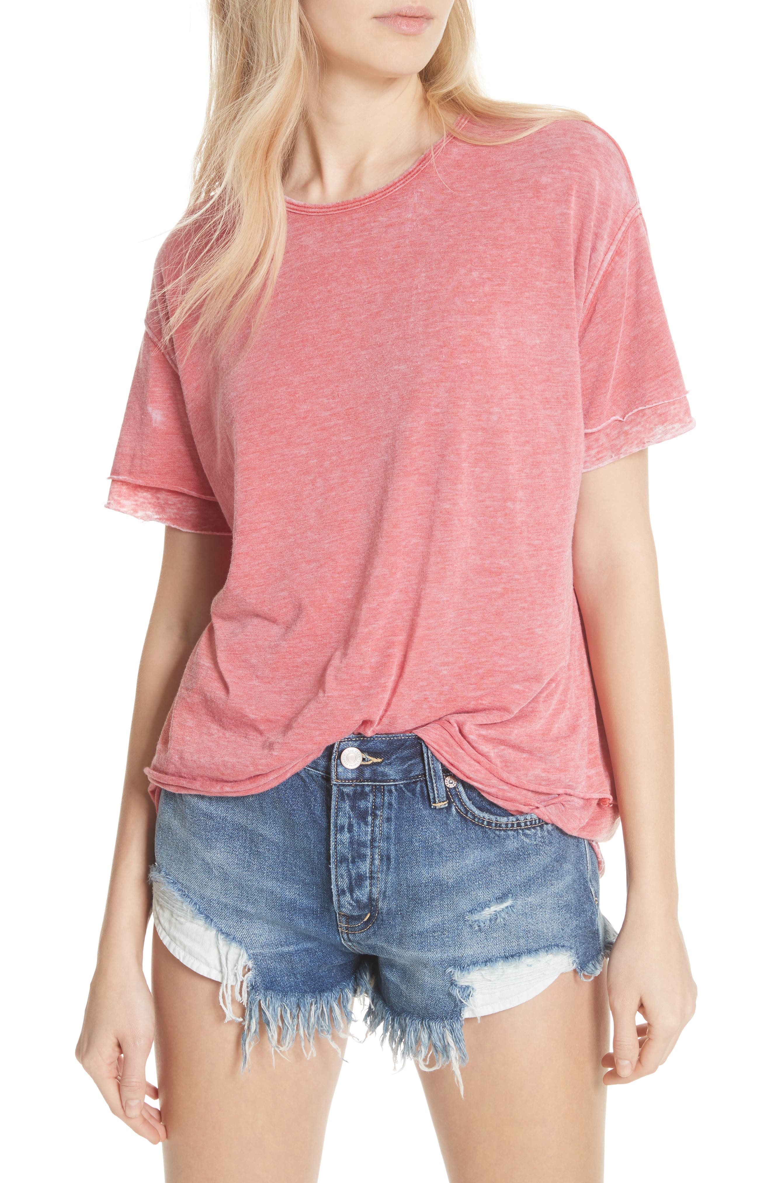 We the Free by Free People Cloud Nine Tee,                             Main thumbnail 5, color,