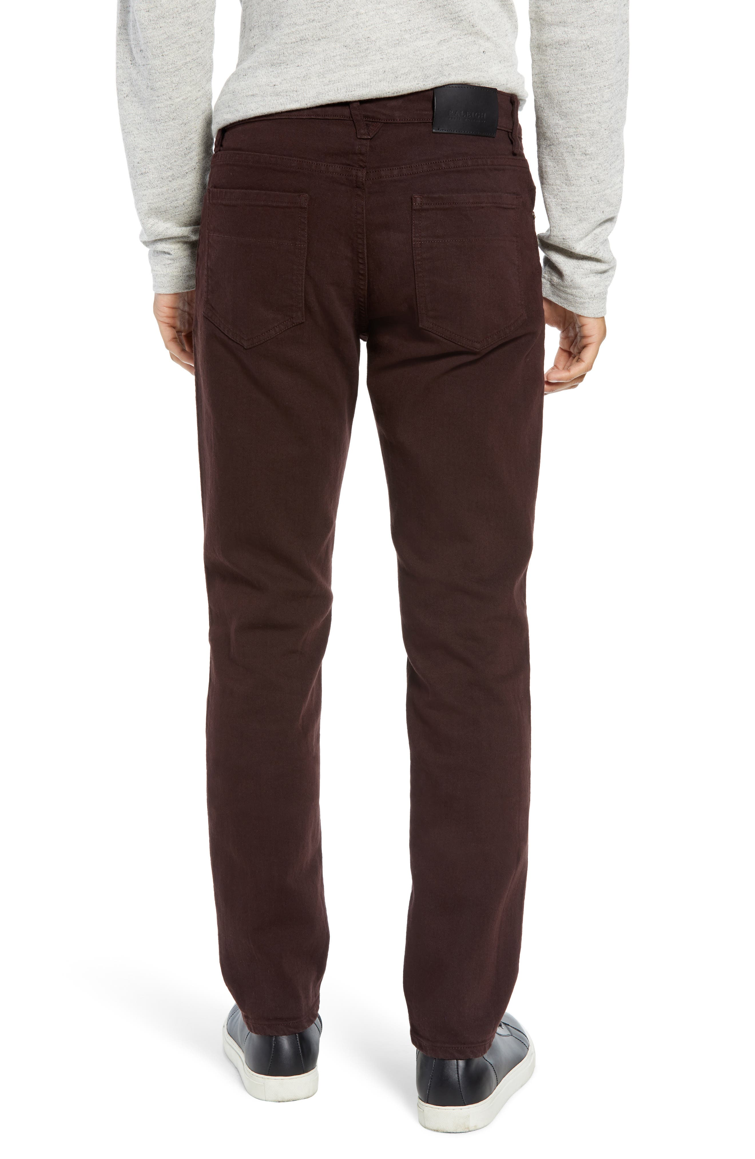 Raleight Denim Martin Skinny Fit Jeans,                             Alternate thumbnail 2, color,                             CURRANT
