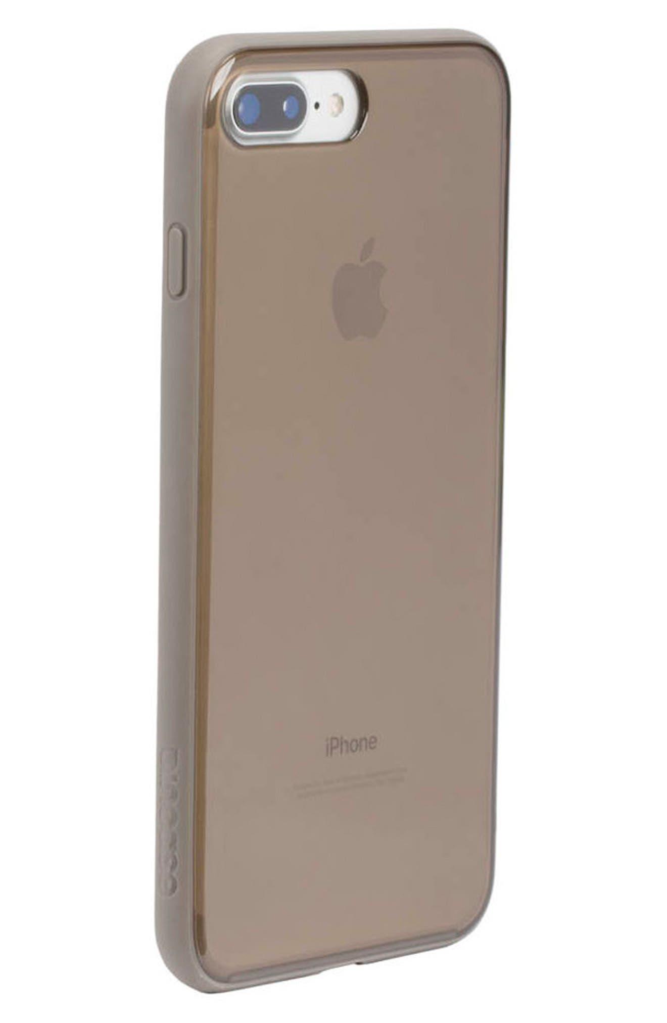 Pop Case Tint iPhone 7 Plus/8 Plus Case,                             Alternate thumbnail 8, color,                             DEEP TAUPE