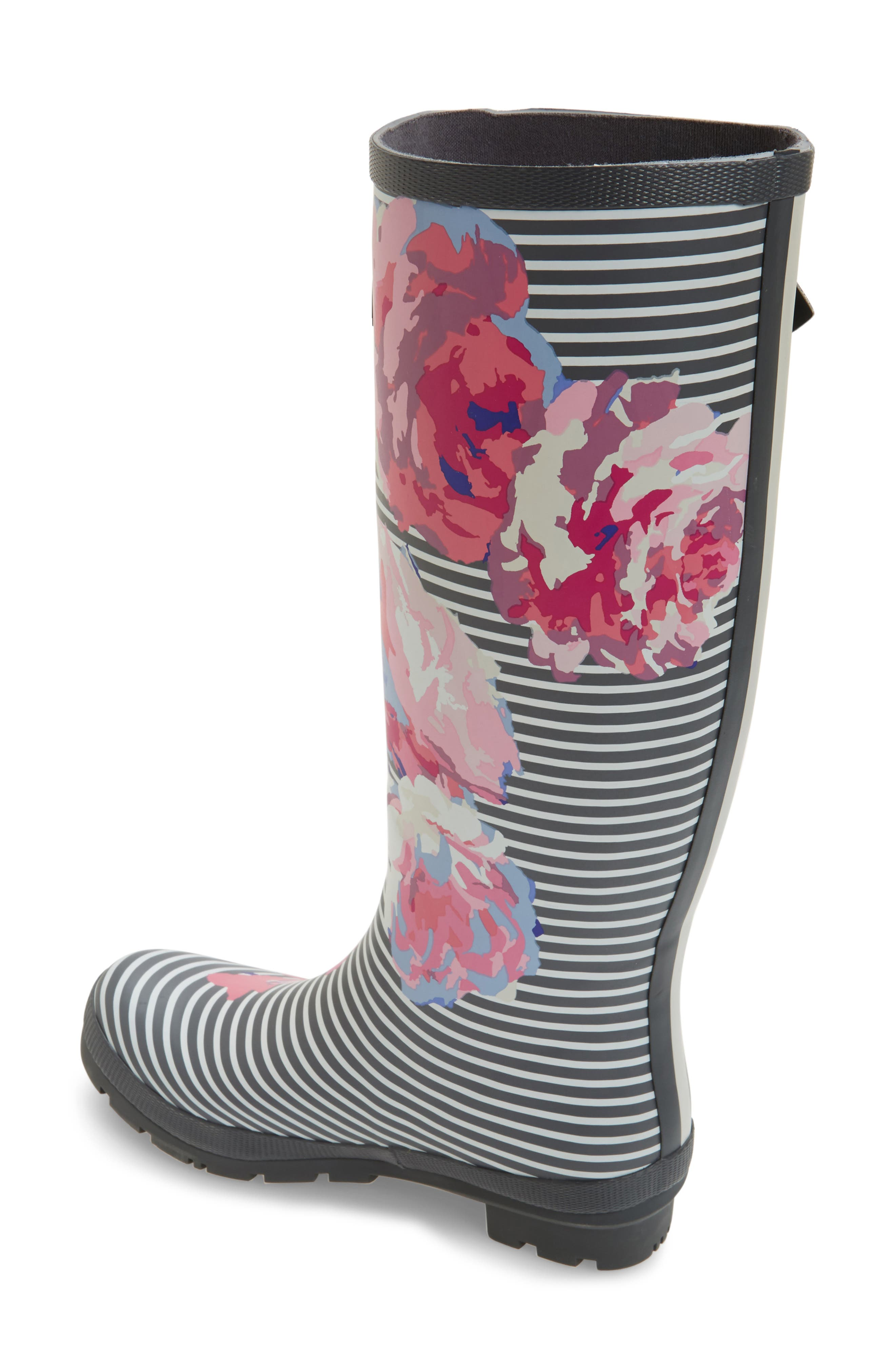 'Welly' Print Rain Boot,                             Alternate thumbnail 56, color,