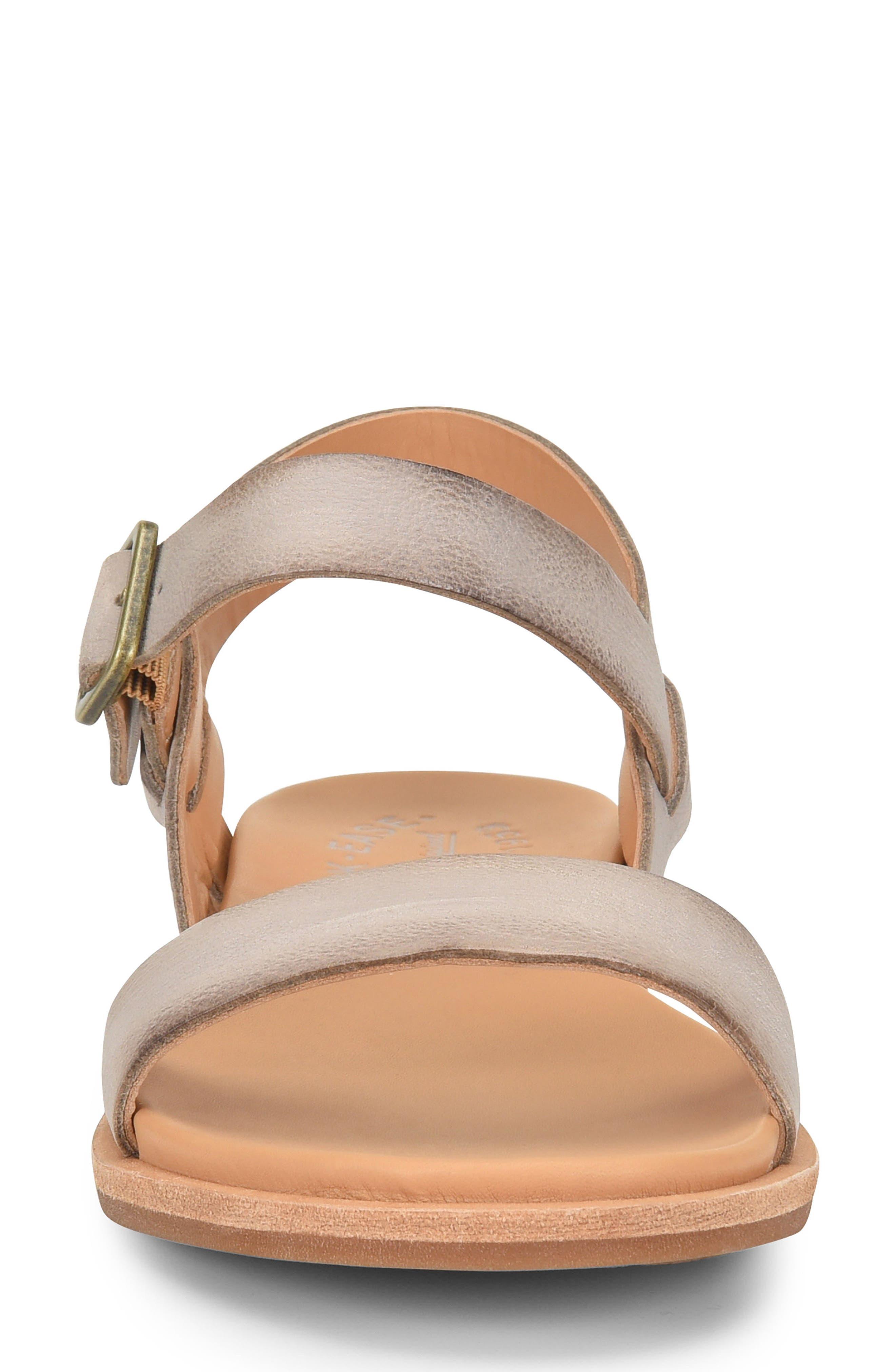 KORK-EASE<SUP>®</SUP>,                             Yucca Sandal,                             Alternate thumbnail 4, color,                             GREY LEATHER